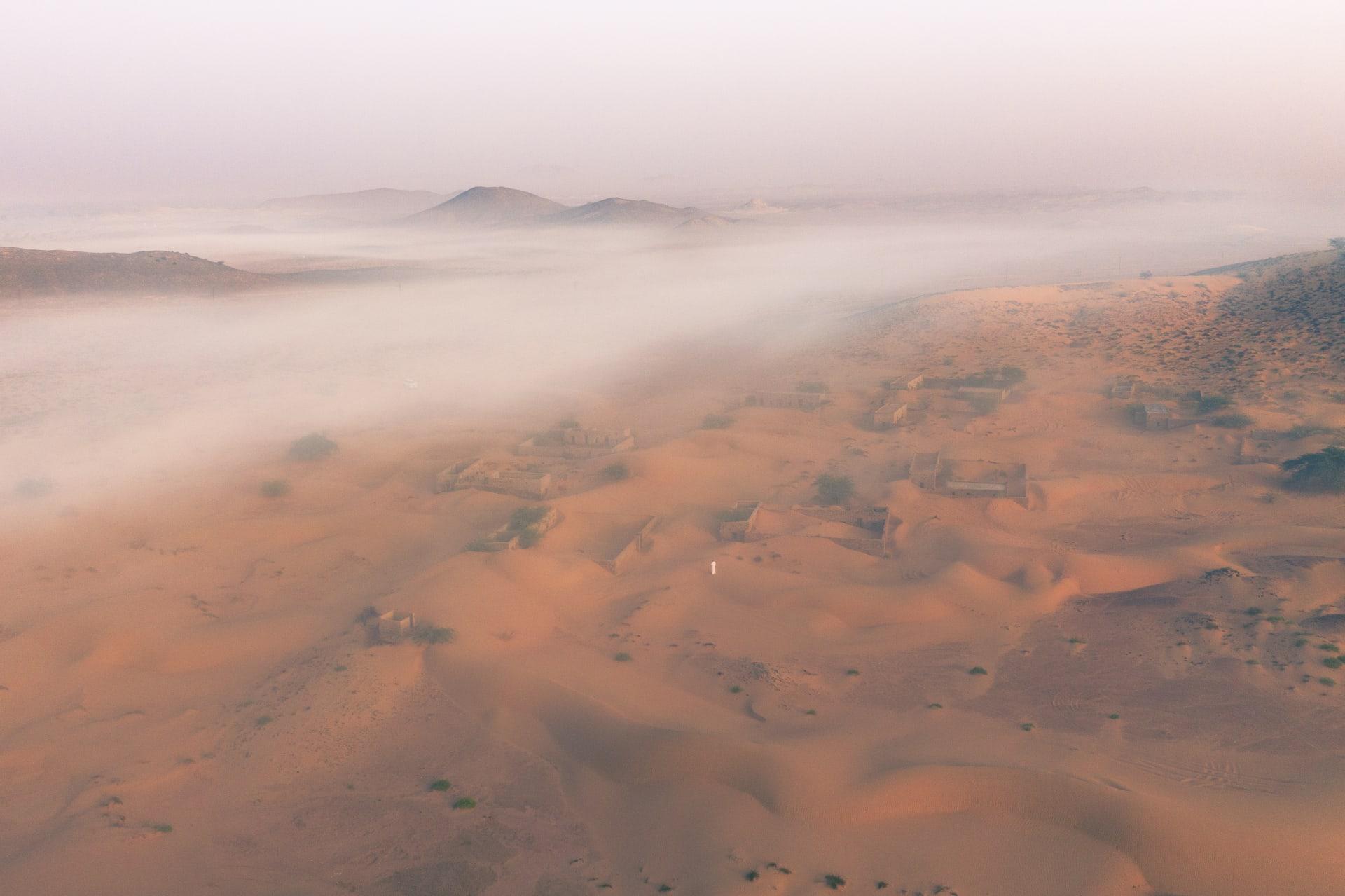قرية وادي المر في عمان