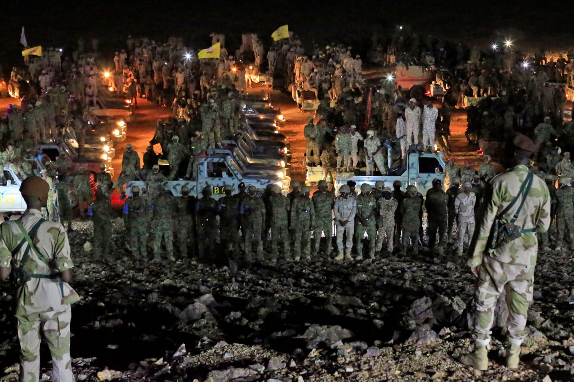 """السودان: البرهان يتفقد الحدود بعد """"كمين إثيوبي"""""""