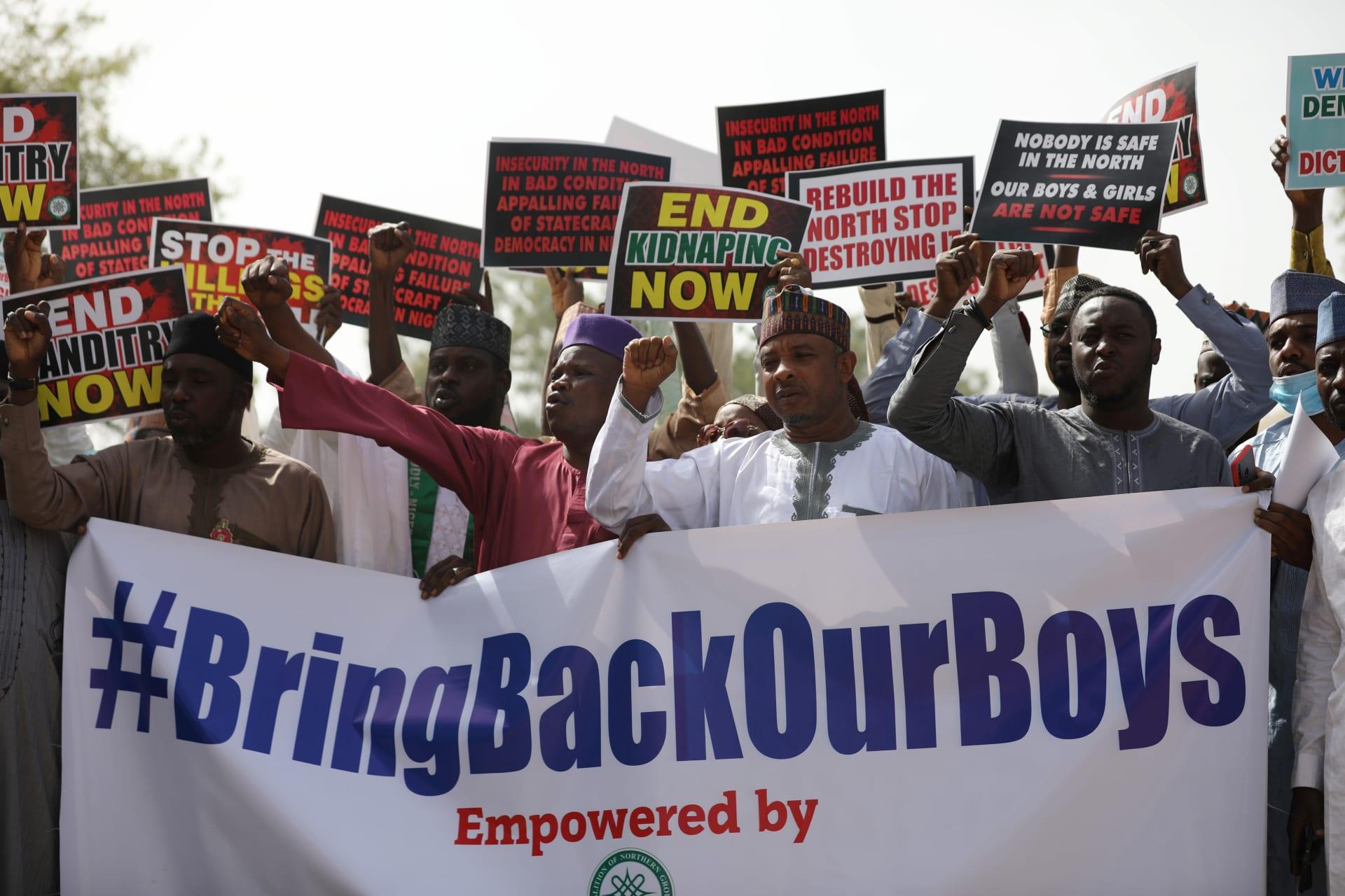 مسؤول حكومي: إطلاق سراح 344 صبيا نيجيريا مختطفا