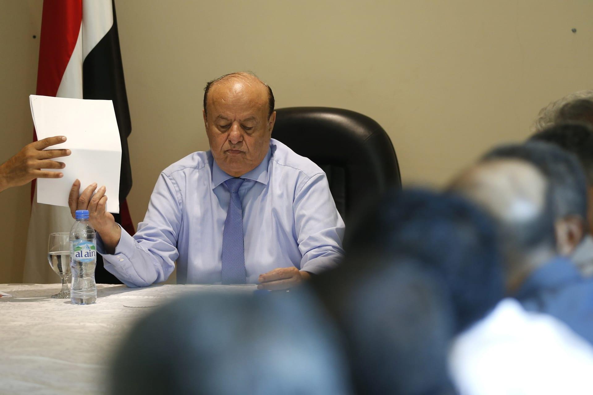 الرئيس اليمني يعلن تشكيل الحكومة الجديدة برئاسة معين عبدالملك تنفيذا لاتفاق الرياض