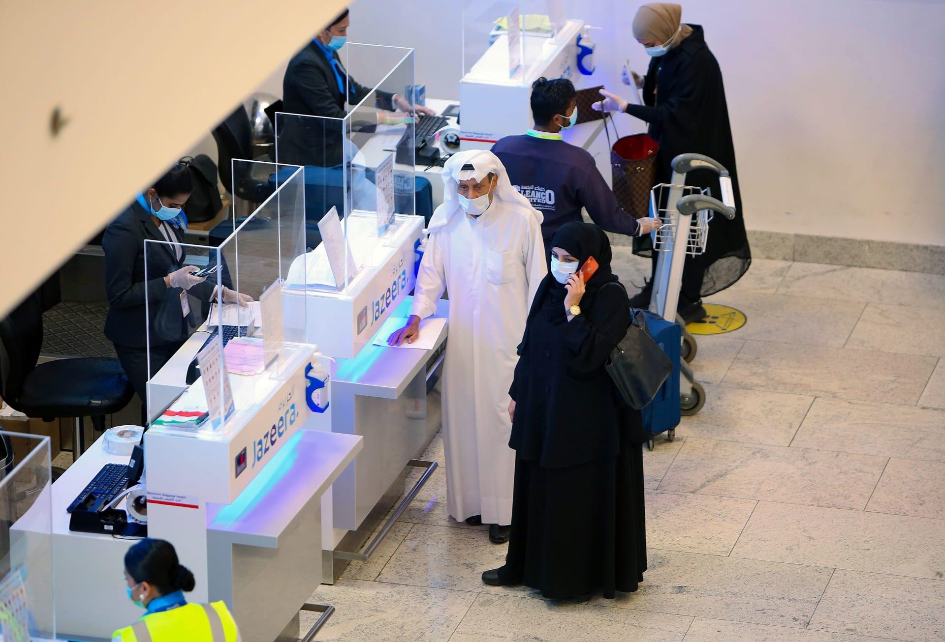 الكويت تعلق الرحلات الجوية وتغلق حدودها حتى 1 يناير مع ظهور سلالة جديدة لكورونا