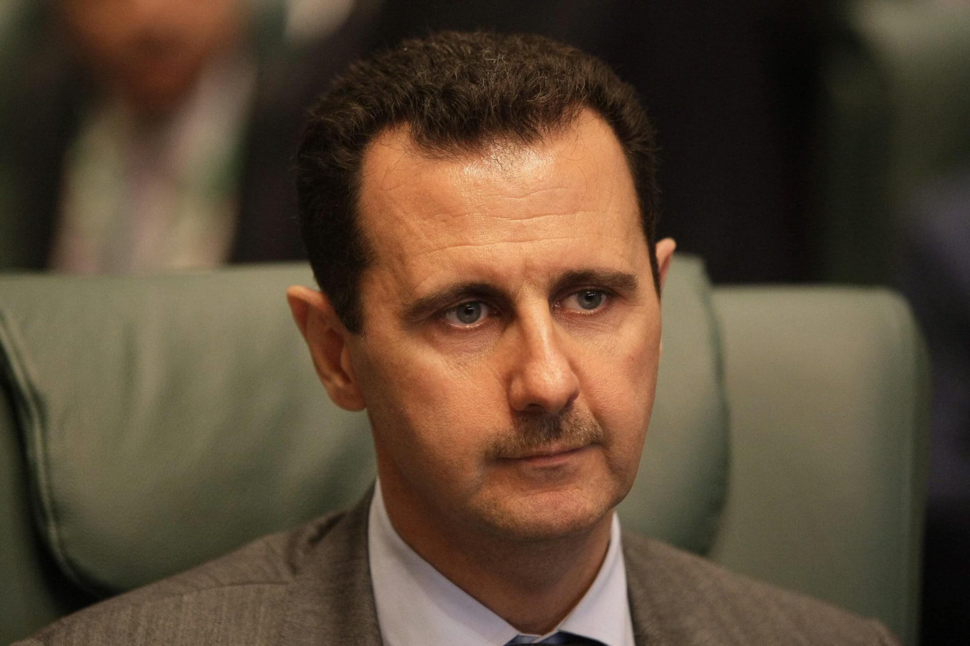 صورة ارشيفية لبشار الأسد