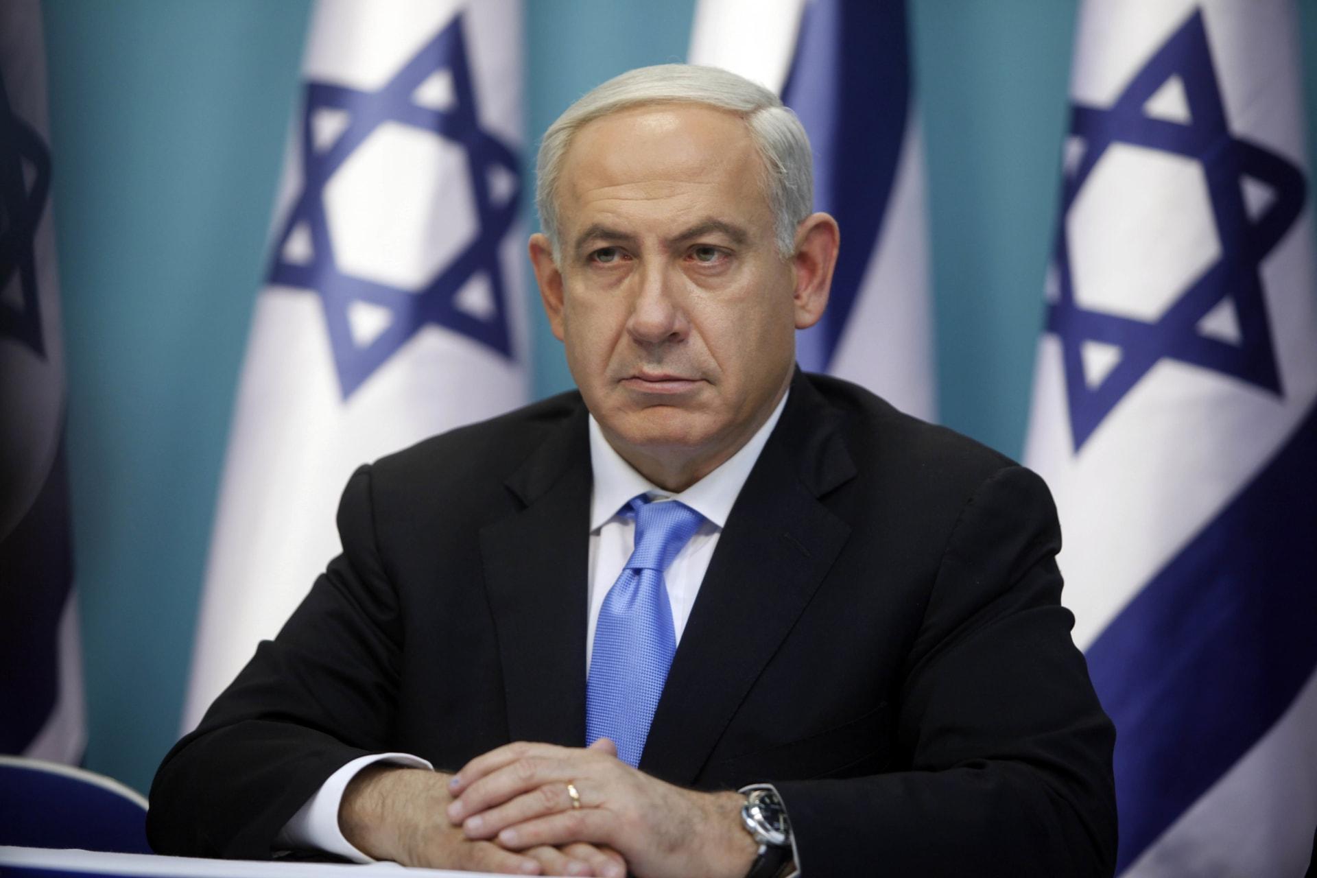 صورة أرشيفية لرئيس الوزراء الإسرائيلي، بنيامين نتنياهو