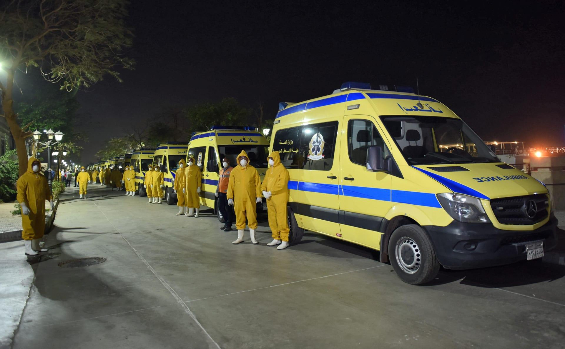 مقتل 8 مرضى بفيروس كورونا وإصابة 5 على الأقل في حريق مستشفى مصري