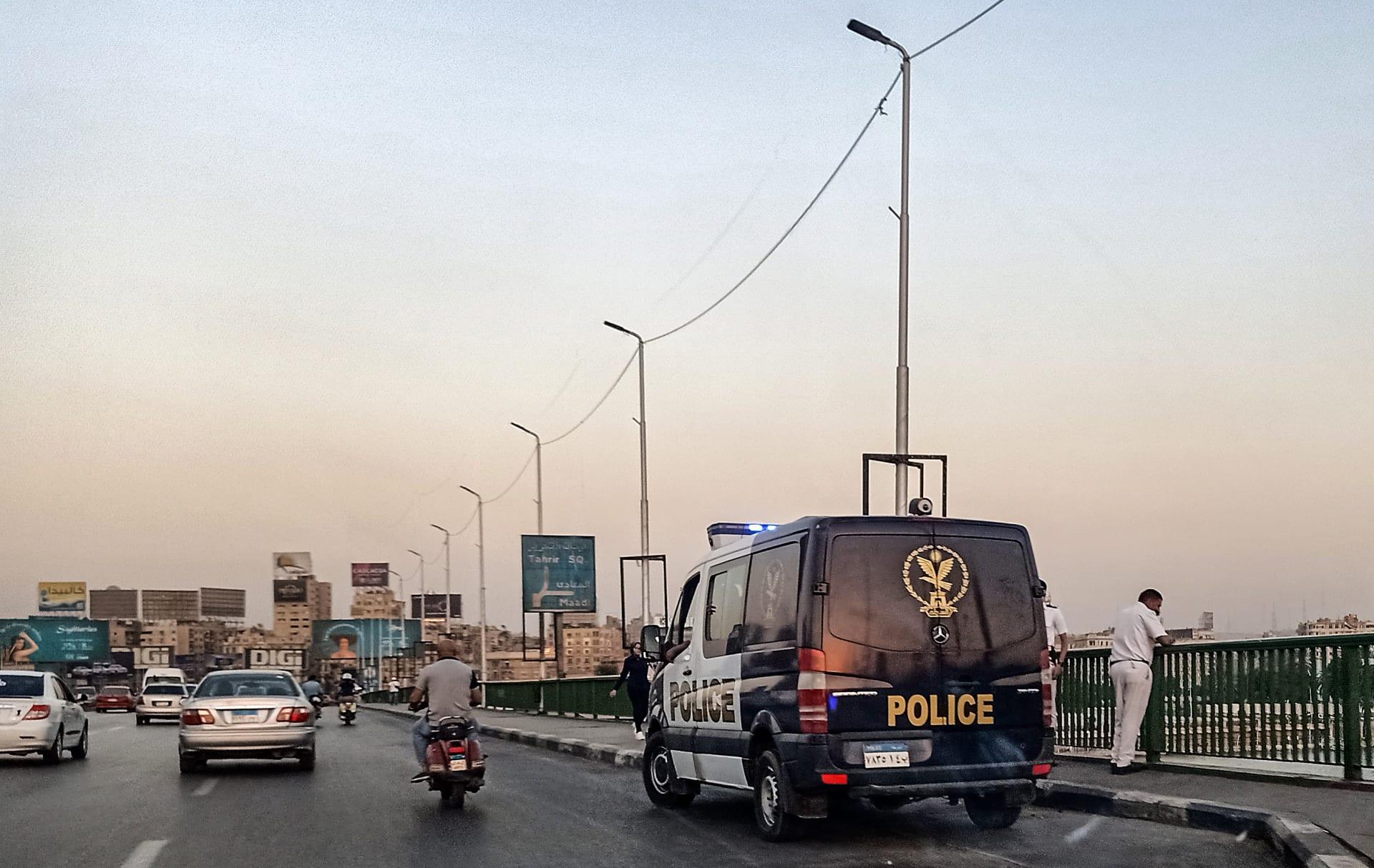 صورة أرشيفية لسيارة شرطة في مصر