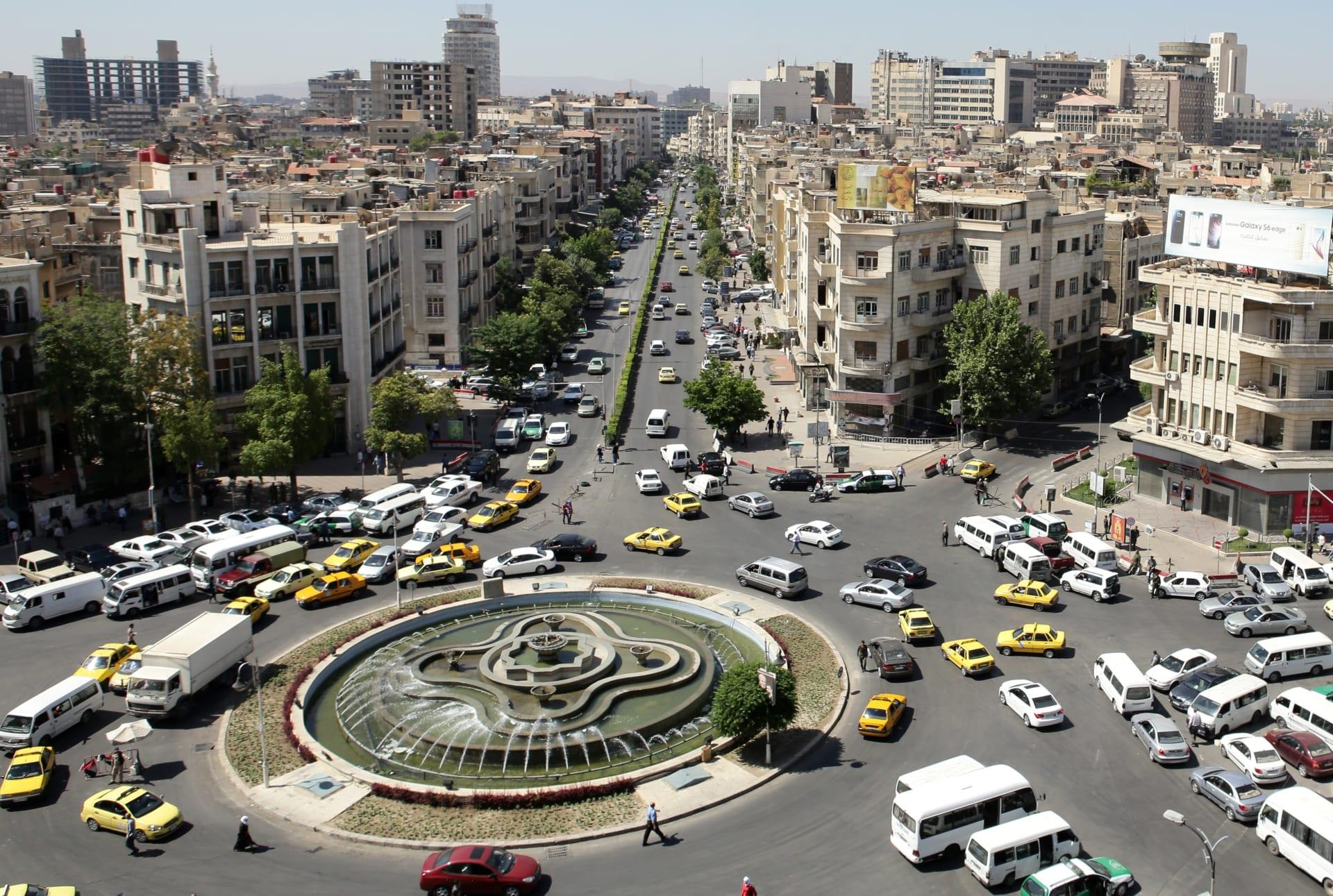 صورة أرشيفية من العاصمة السورية دمشق 2015