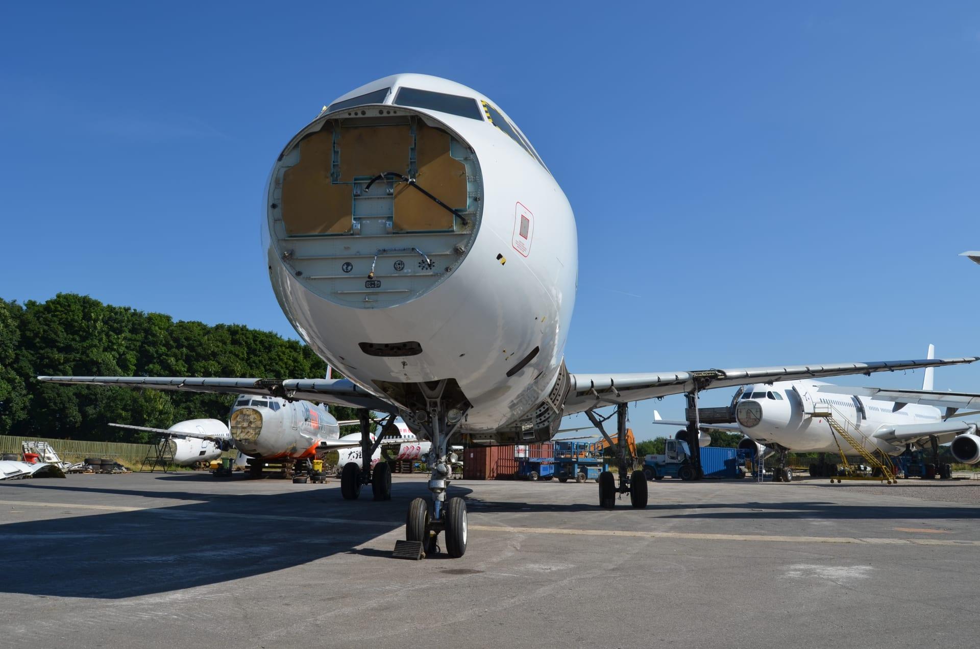 خطوة بخطوة.. ماذا يحدث للطائرة عند تقاعدها وسط تفشي كورونا؟