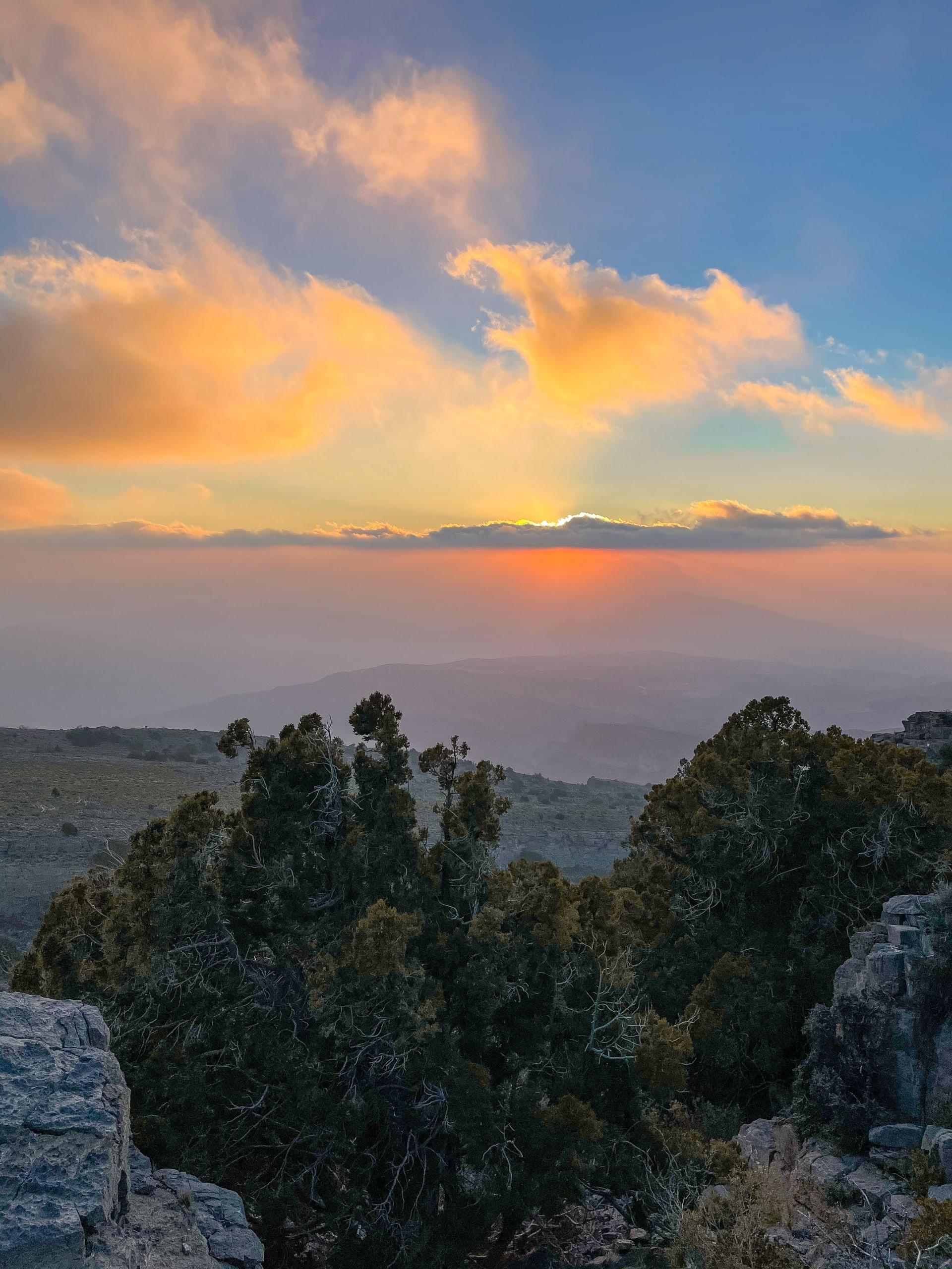 جبل شمس في عمان