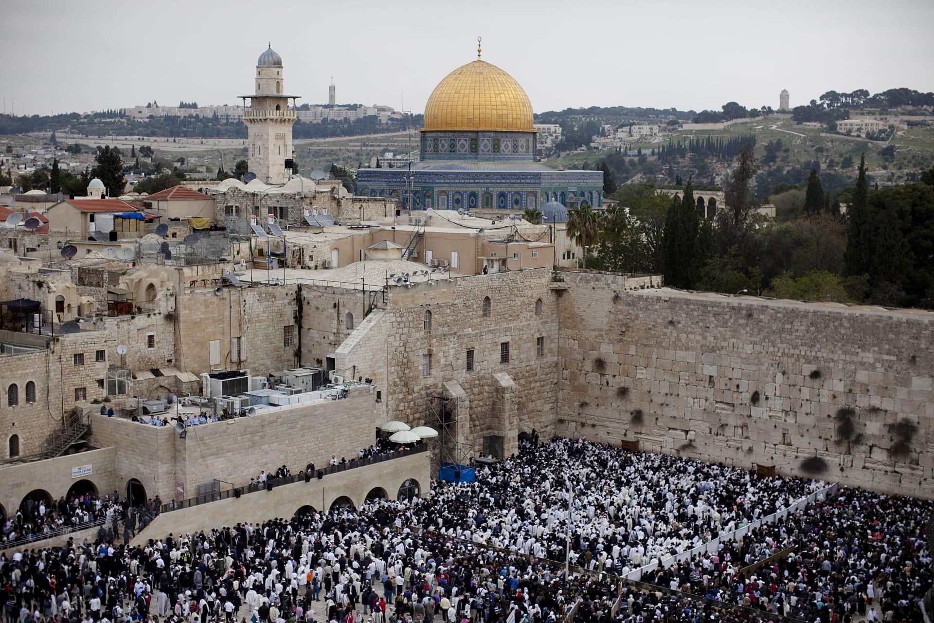 صورة ارشيفية عامة من القدس