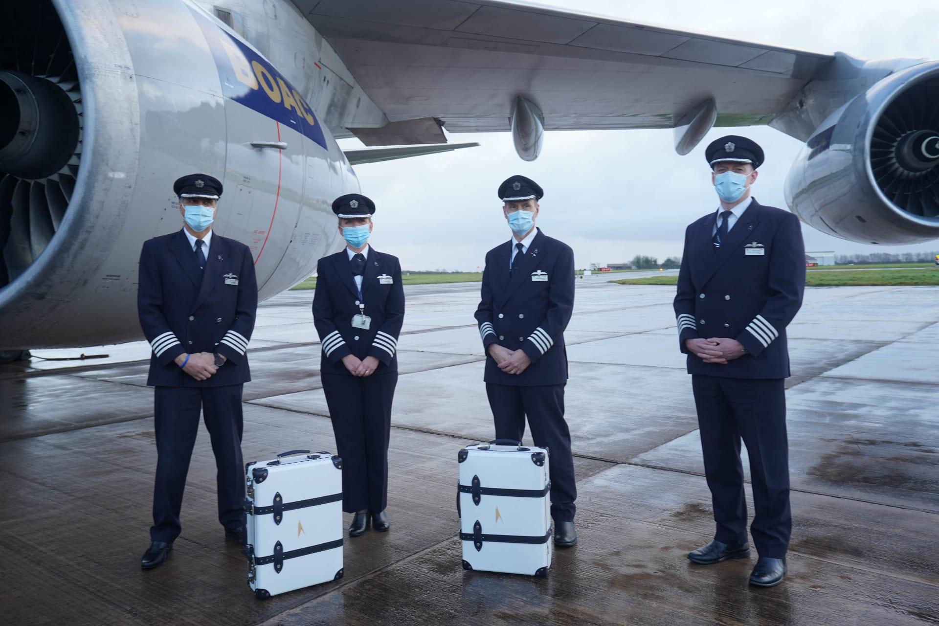 تحمل هذه الحقائب الفاخرة محدودة الإصدار قطعا لطائرات متقاعدة داخلها