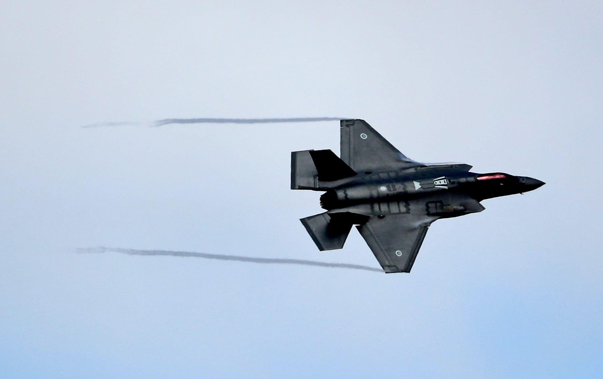 صورة ارشيفية لمقاتلة من طراز F-35