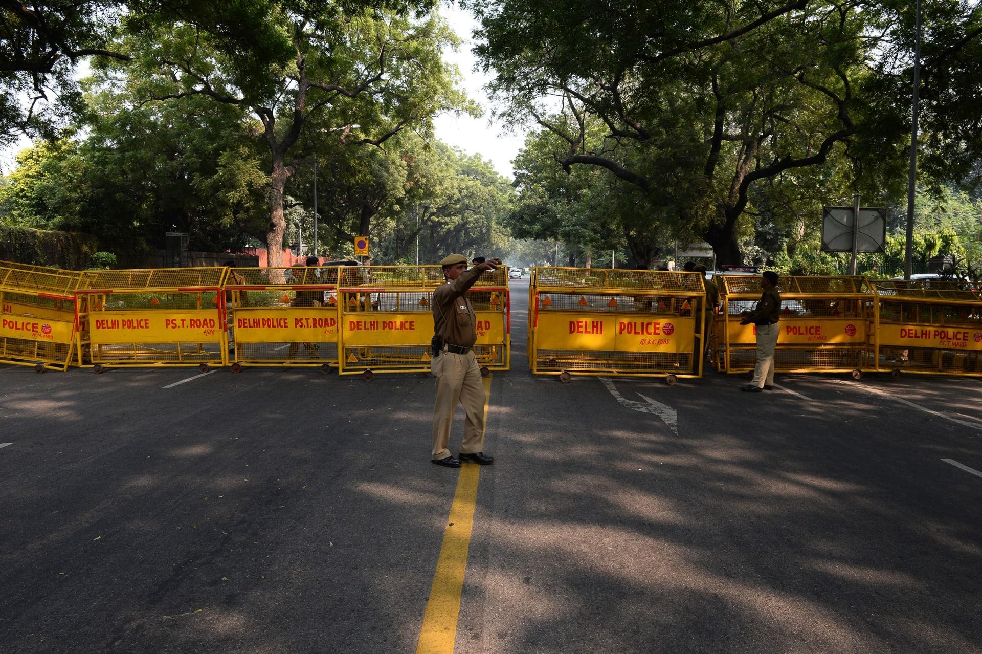 الهند: انفجار عبوة ناسفة قرب السفارة الإسرائيلية في نيودلهي