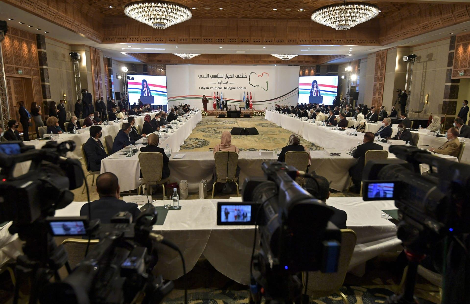 """ليبيا: انتخاب عبدالحميد دبيبه لرئاسة الحكومة الانتقالية.. ومحمد المنفي لـ""""الرئاسي"""""""