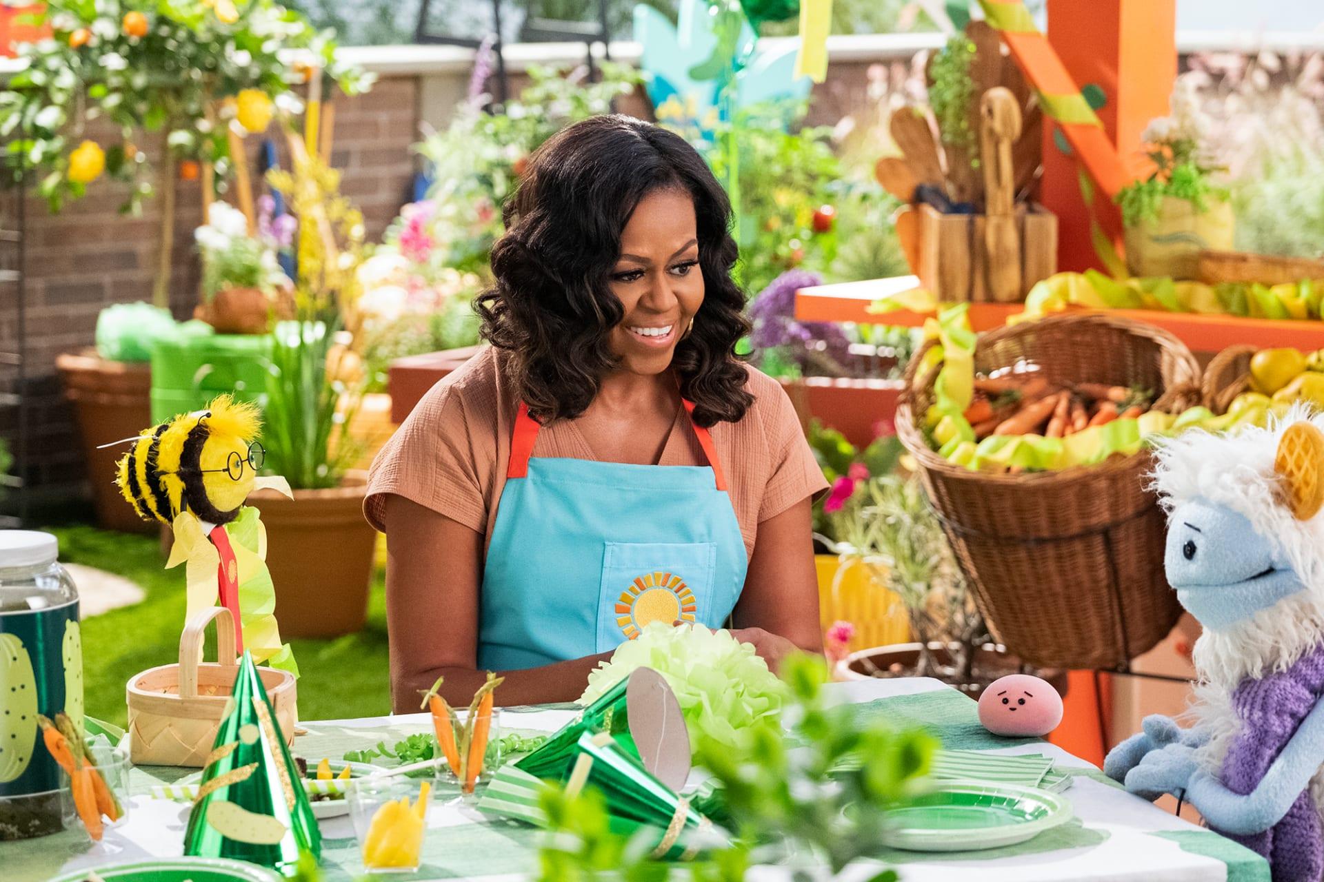 """ميشيل أوباما ستطلق برنامج طبخ للأطفال على """"نتفليكس"""""""
