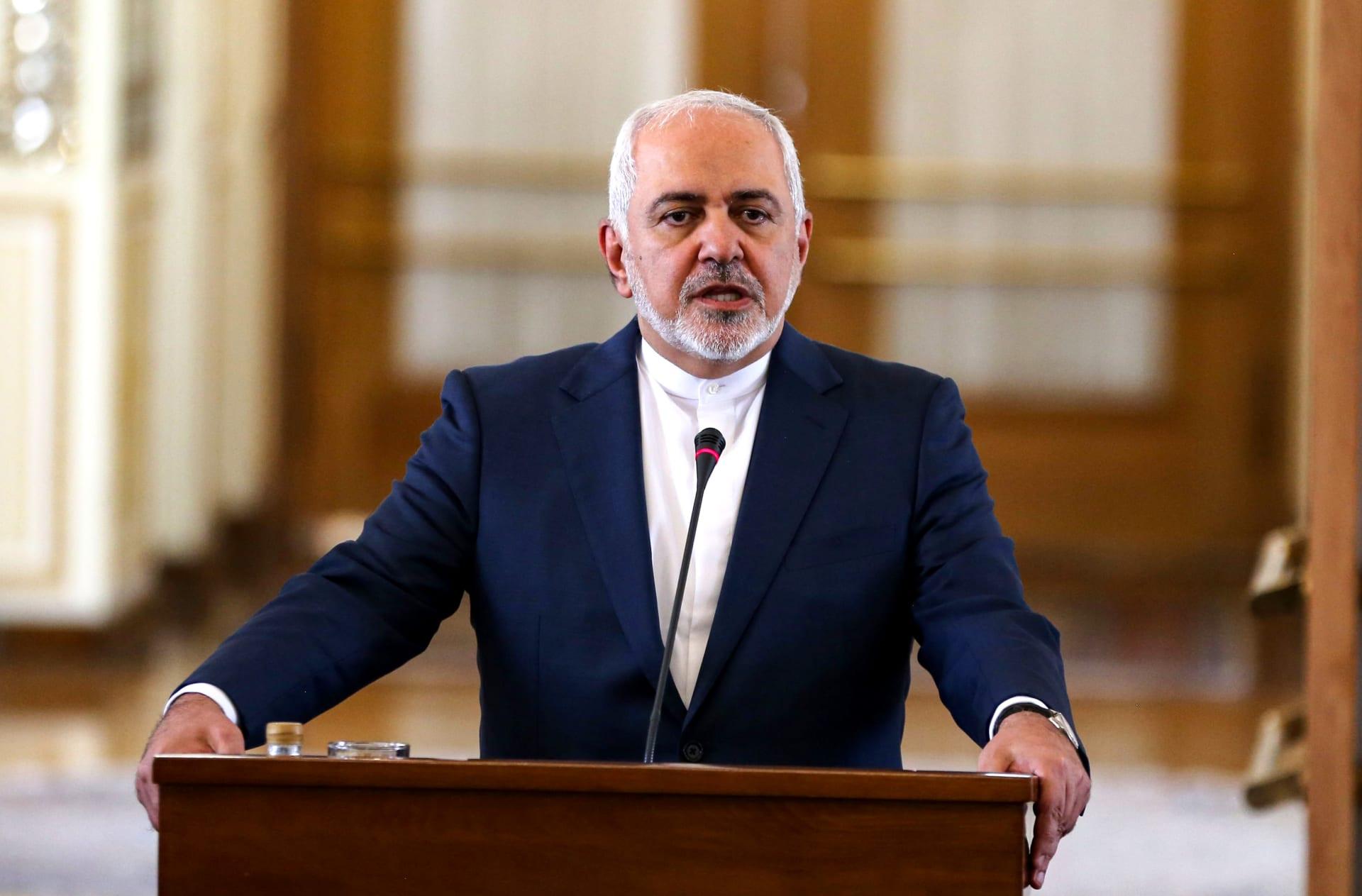 صورة ارشيفية لجواد ظريف وزير الخارجية الإيراني
