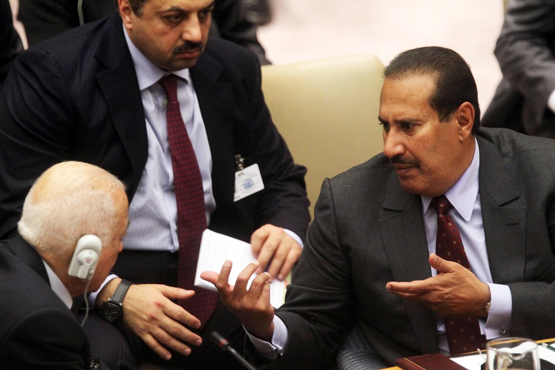 """""""الدندنة الرخيصة"""" و""""البيانات المبتذلة"""".. حمد بن جاسم: هناك من استاء من عودة العلاقات مع السعودية"""