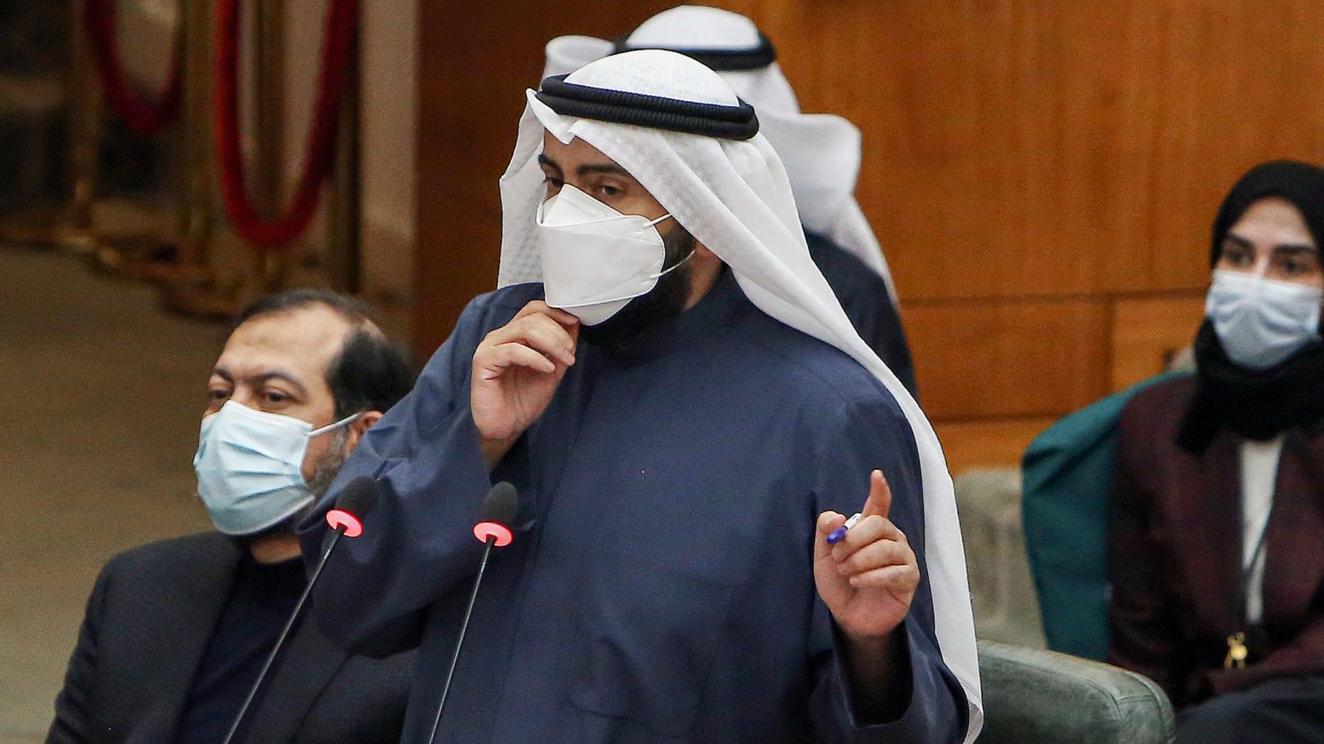 وزير الصحة الكويتي الشيخ الدكتور باسل حمود الصباح