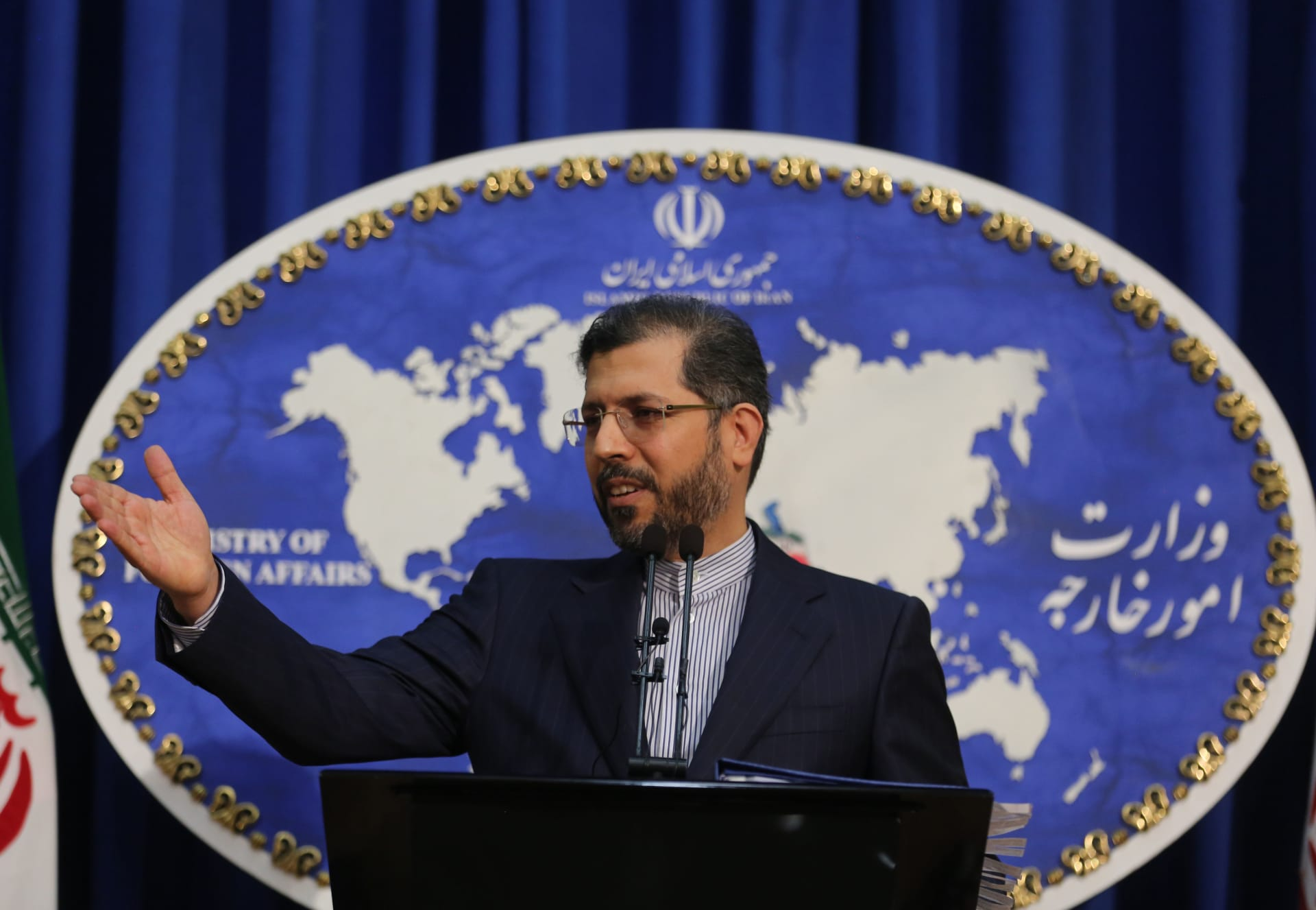 المكتحدث باسم الخارجية الإيرانية، خطيب زادة