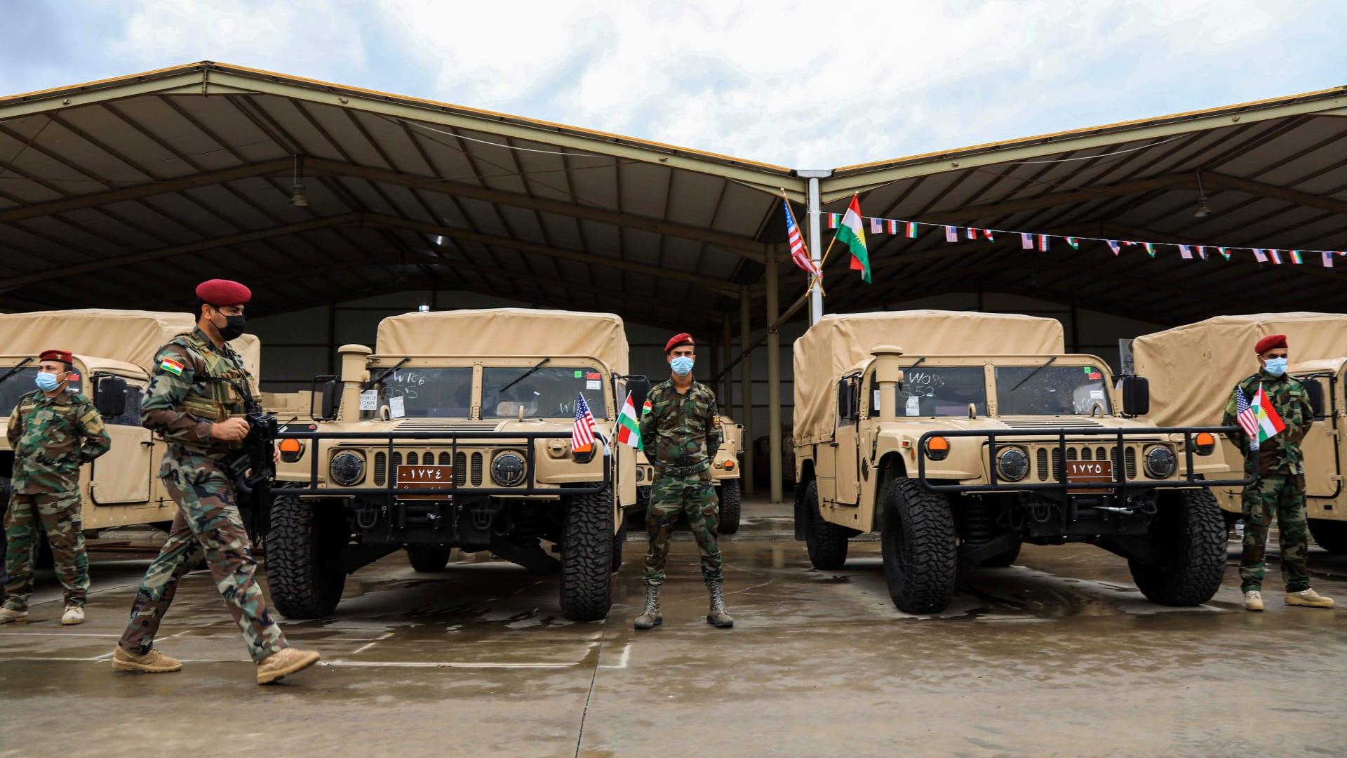 سلطات كردستان: مشتبه به في هجوم أربيل قال إن الصواريخ المستخدمة كانت إيرانية الصنع