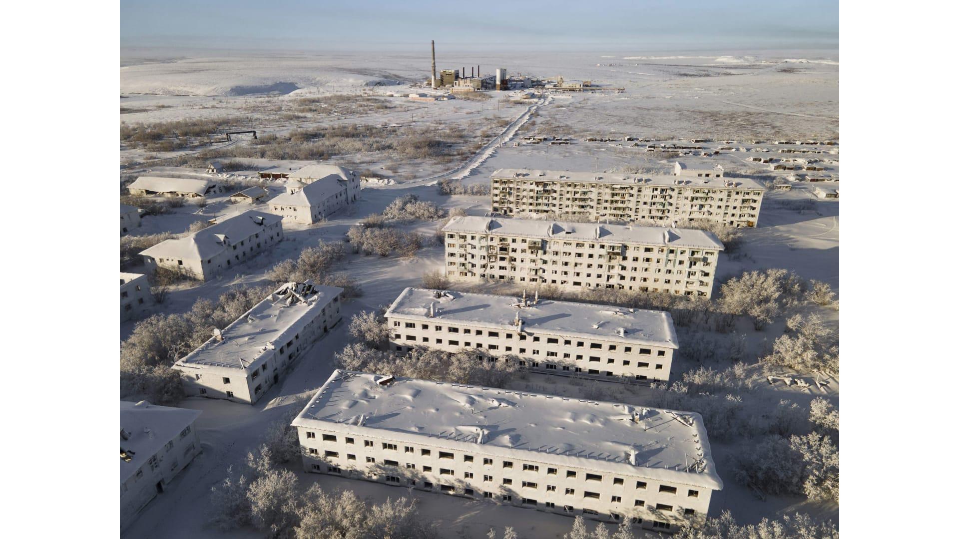 جمال مهجور..نظرة داخل مدن الأشباح المتجمدة في روسيا
