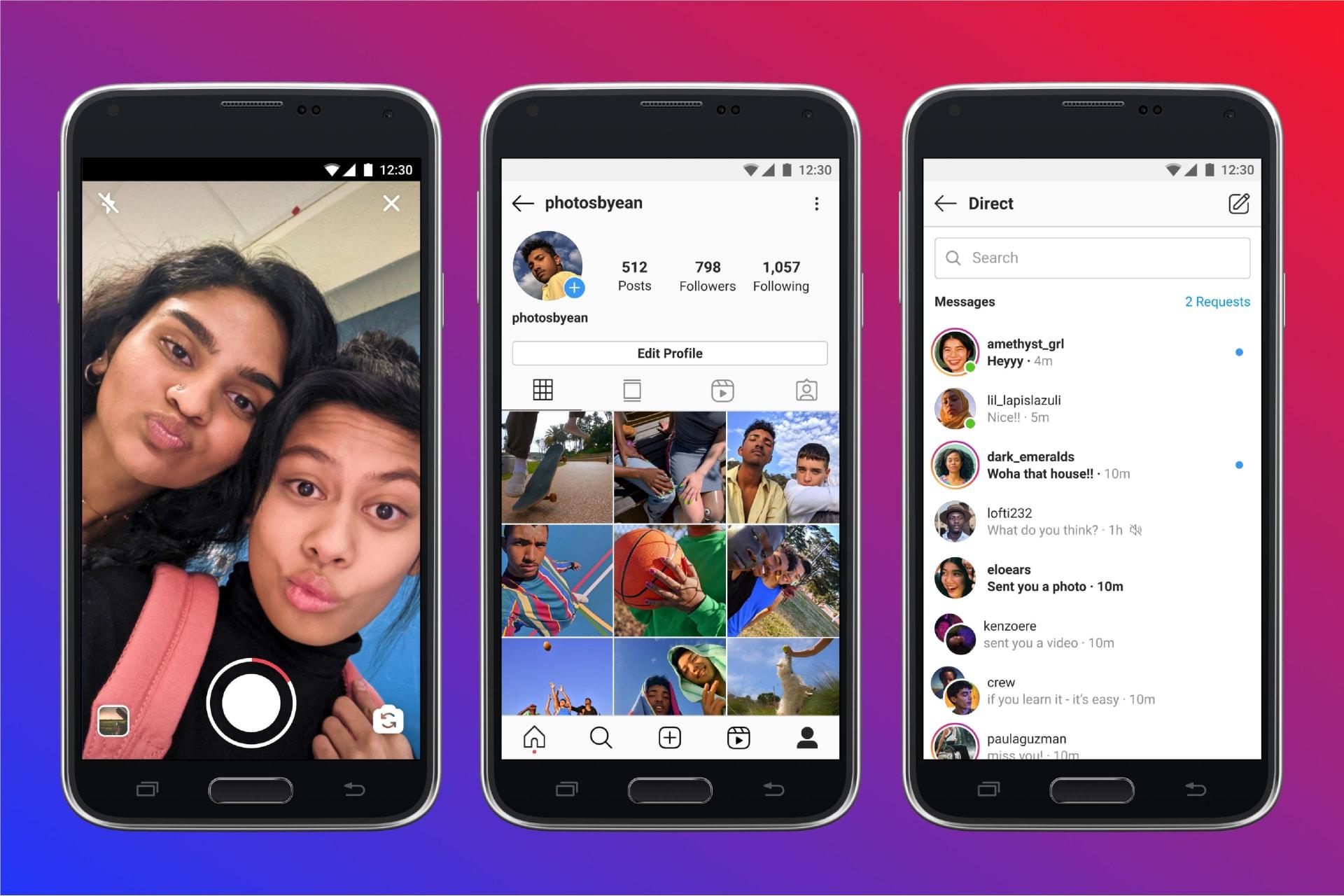 """فيسبوك تطلق خدمة """"إنستغرام لايت"""" في 170 دولة تواجه ضعف الاتصال بالإنترنت"""