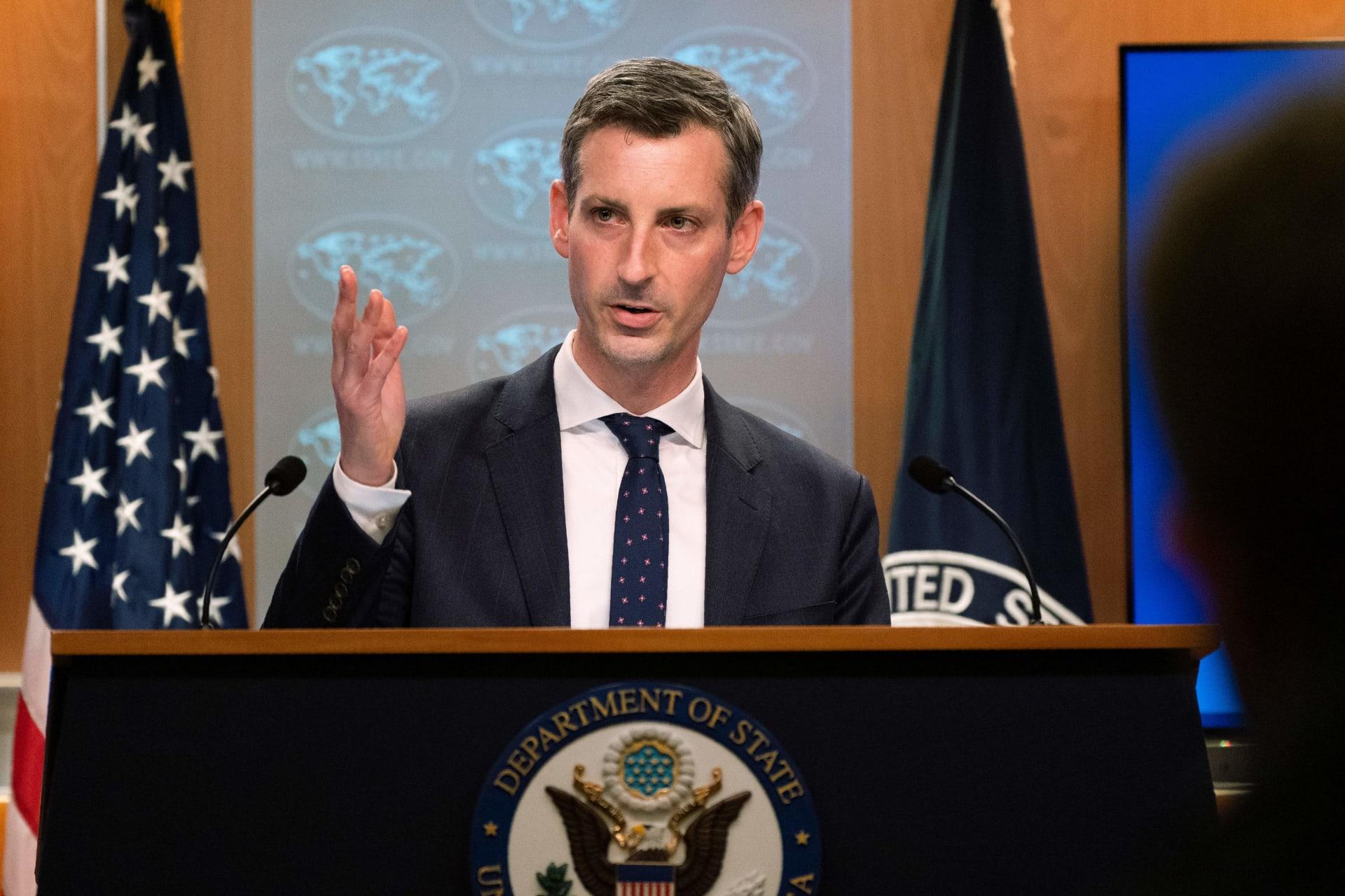 الخارجية الأمريكية: مصر داعم مهم للسلام.. ولدينا قلق عميق بشأن ملف حقوق الإنسان