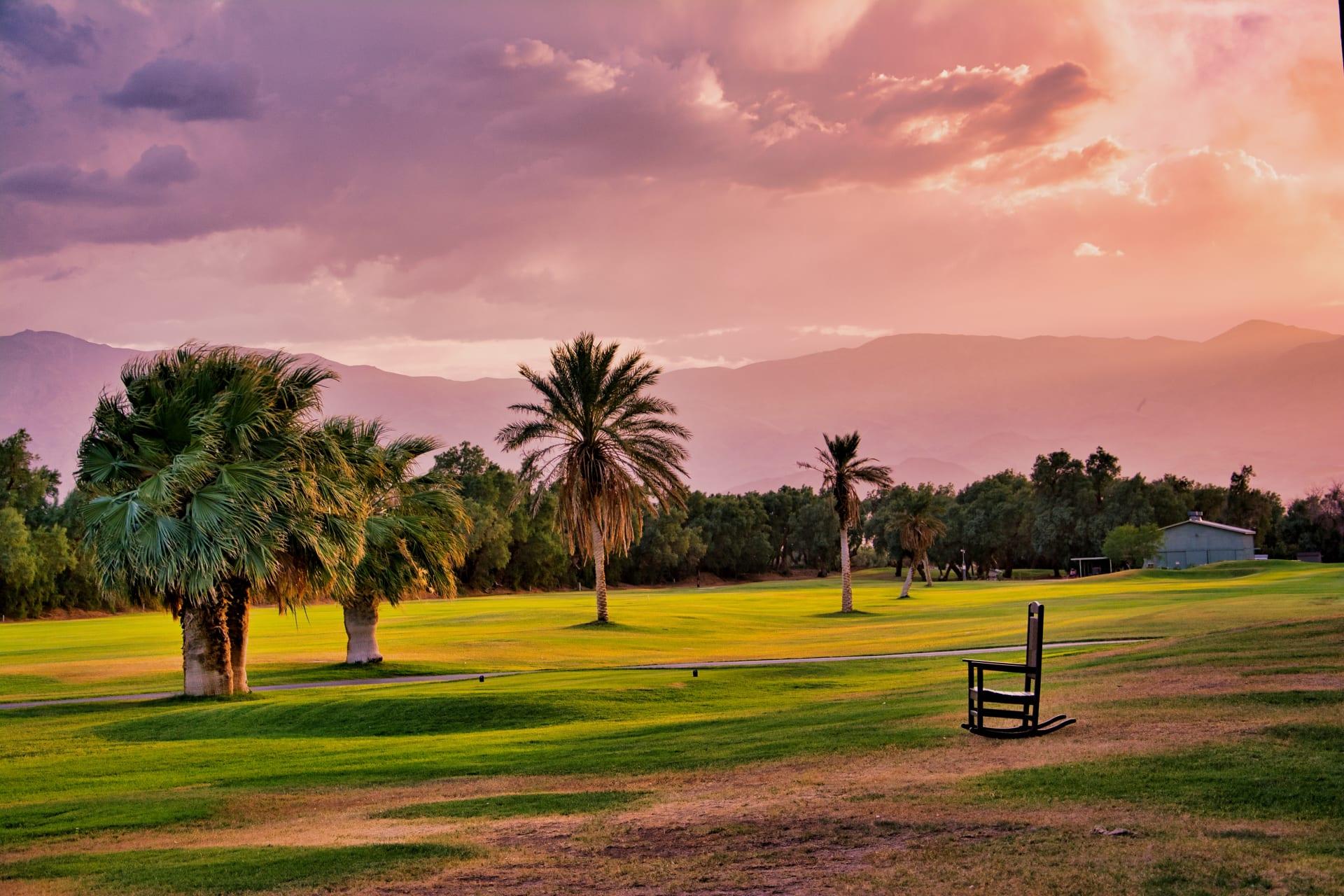 حير الكثيرون.. كيف يختلف لعب الغولف في وادي الموت بأمريكا؟