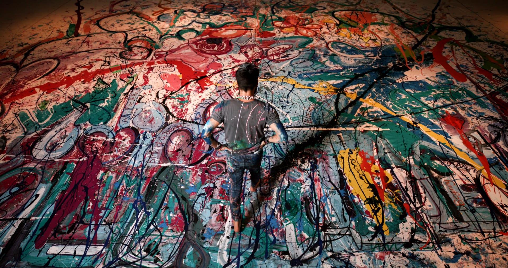أكبر لوحة فنية في العالم تباع بـ62 مليون دولار في مزاد خيري في دبي