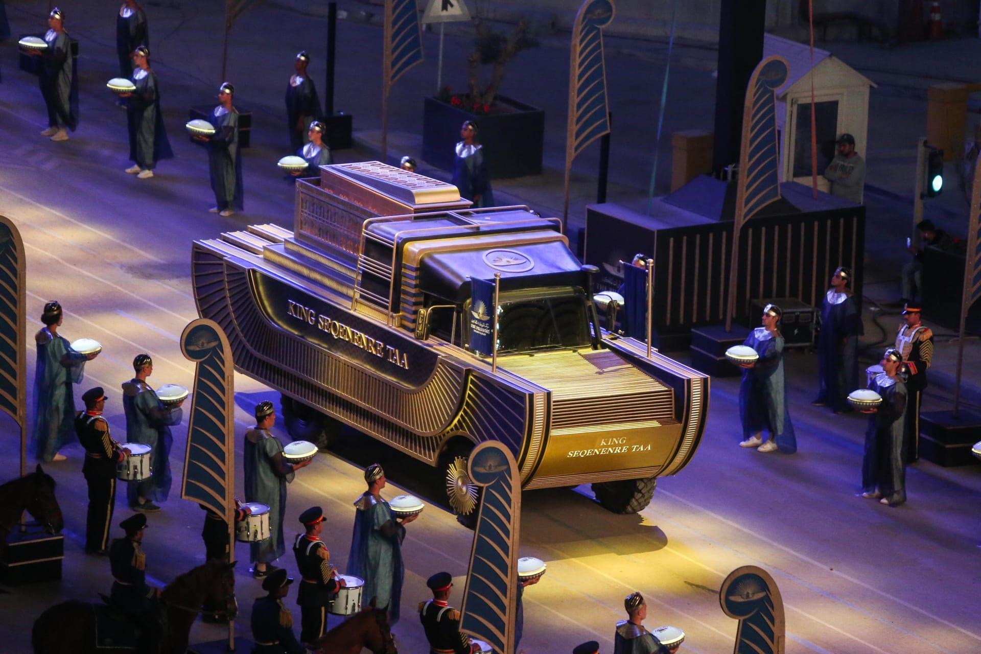بكبسولات النيتروجين.. هكذا تم تجهيز المومياوات الملكية للموكب المهيب بمصر