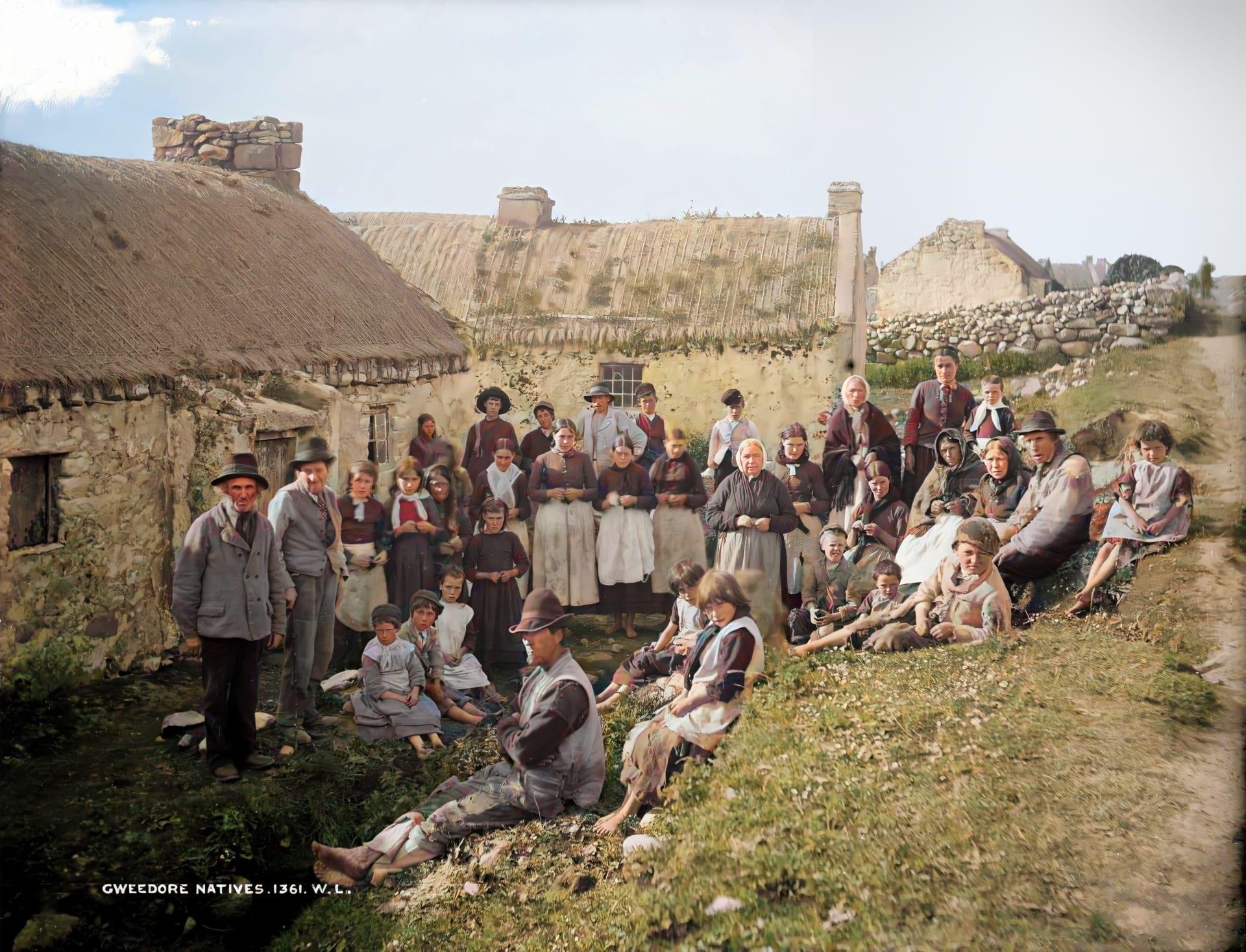 بلمسة من الذكاء الاصطناعي.. مشروع لاستعادة الصور يسلط الضوء على الحياة في أيرلندا قديماً