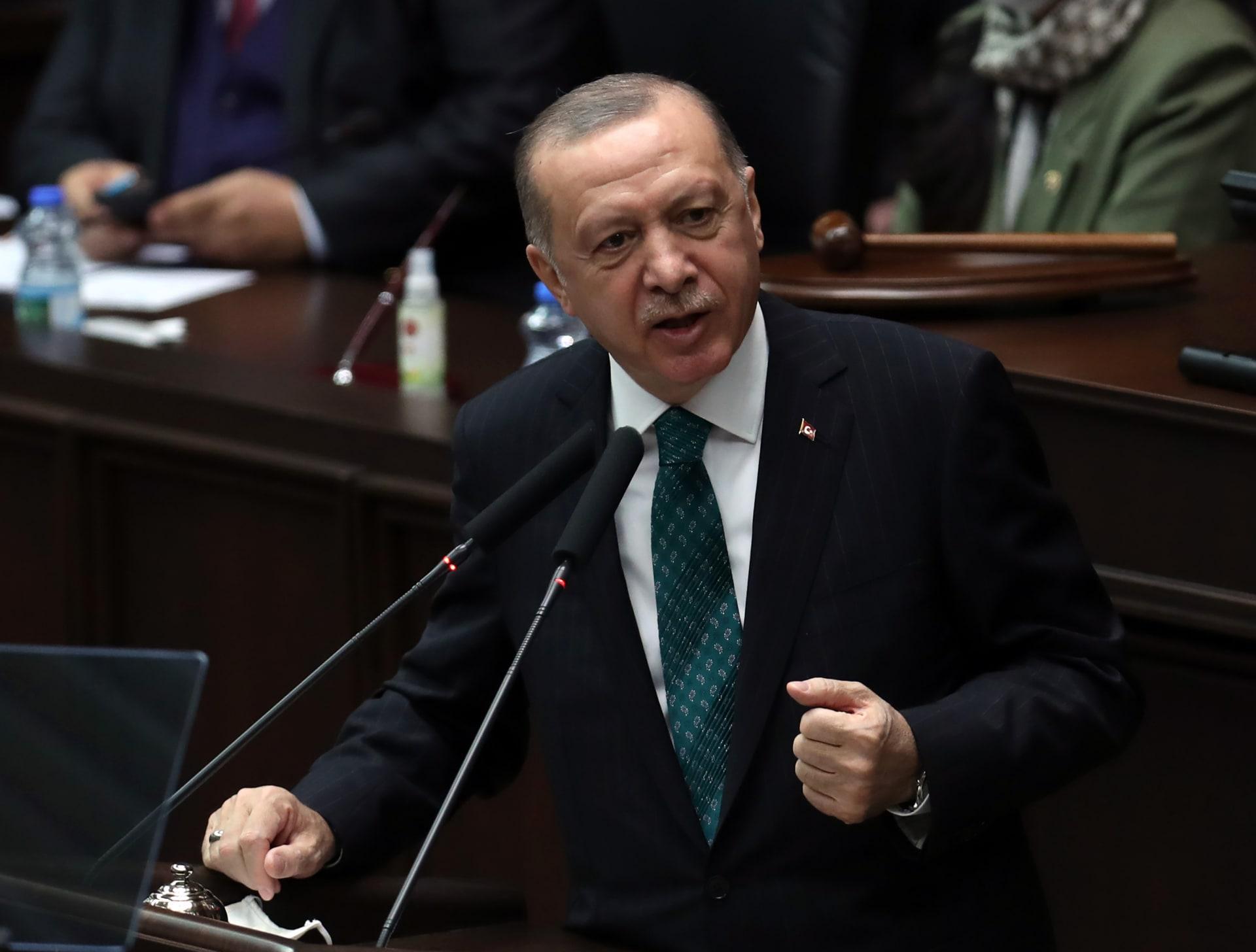 أردوغان يقارن أداء مضيق البوسفور بقناة السويس.. ويتحدى معارضي قناة إسطنبول: شئتم أم أبيتم سنبنيها