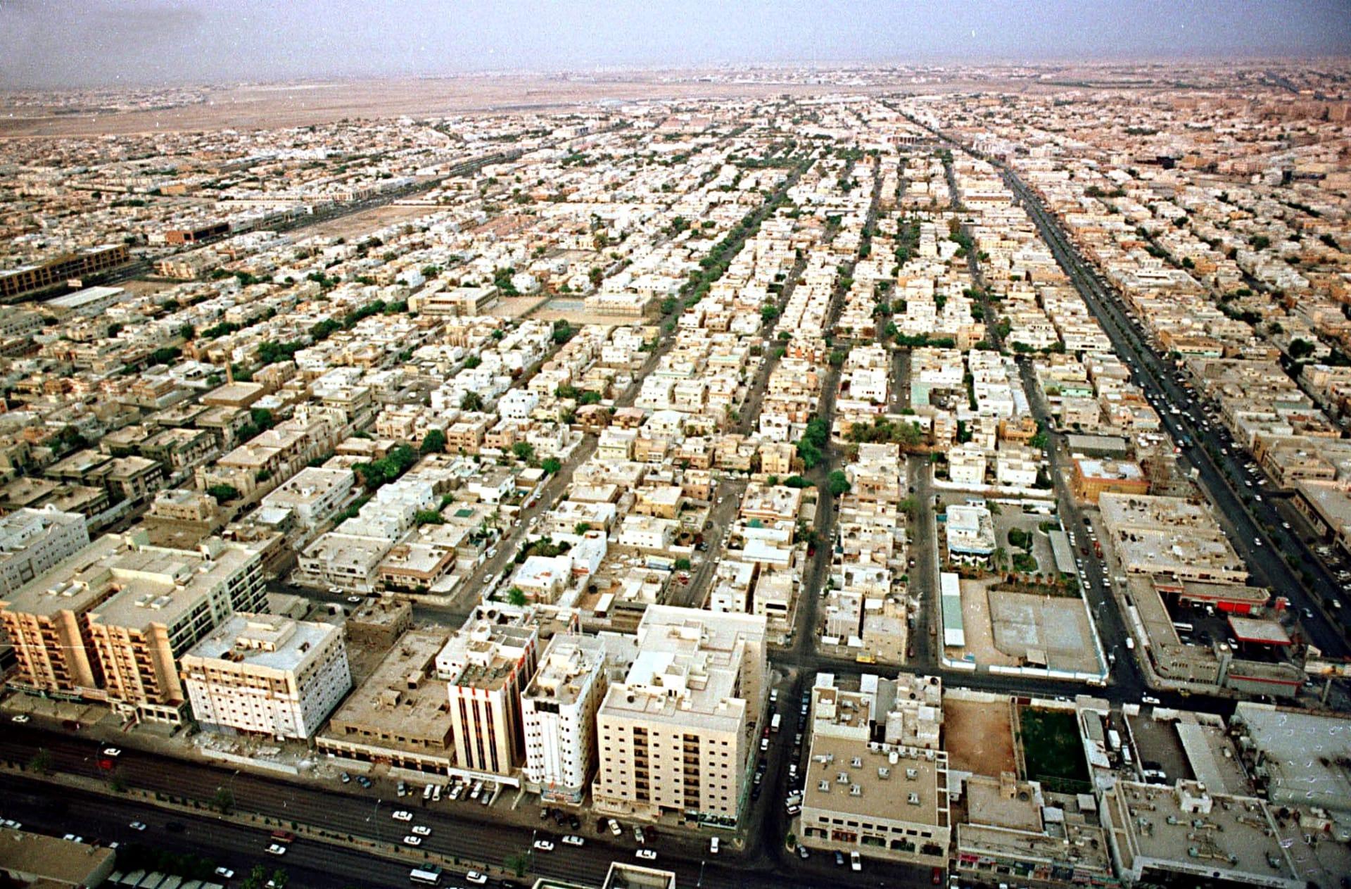 صورة أرشيفية للعاصمة السعودية الرياض العام 2000