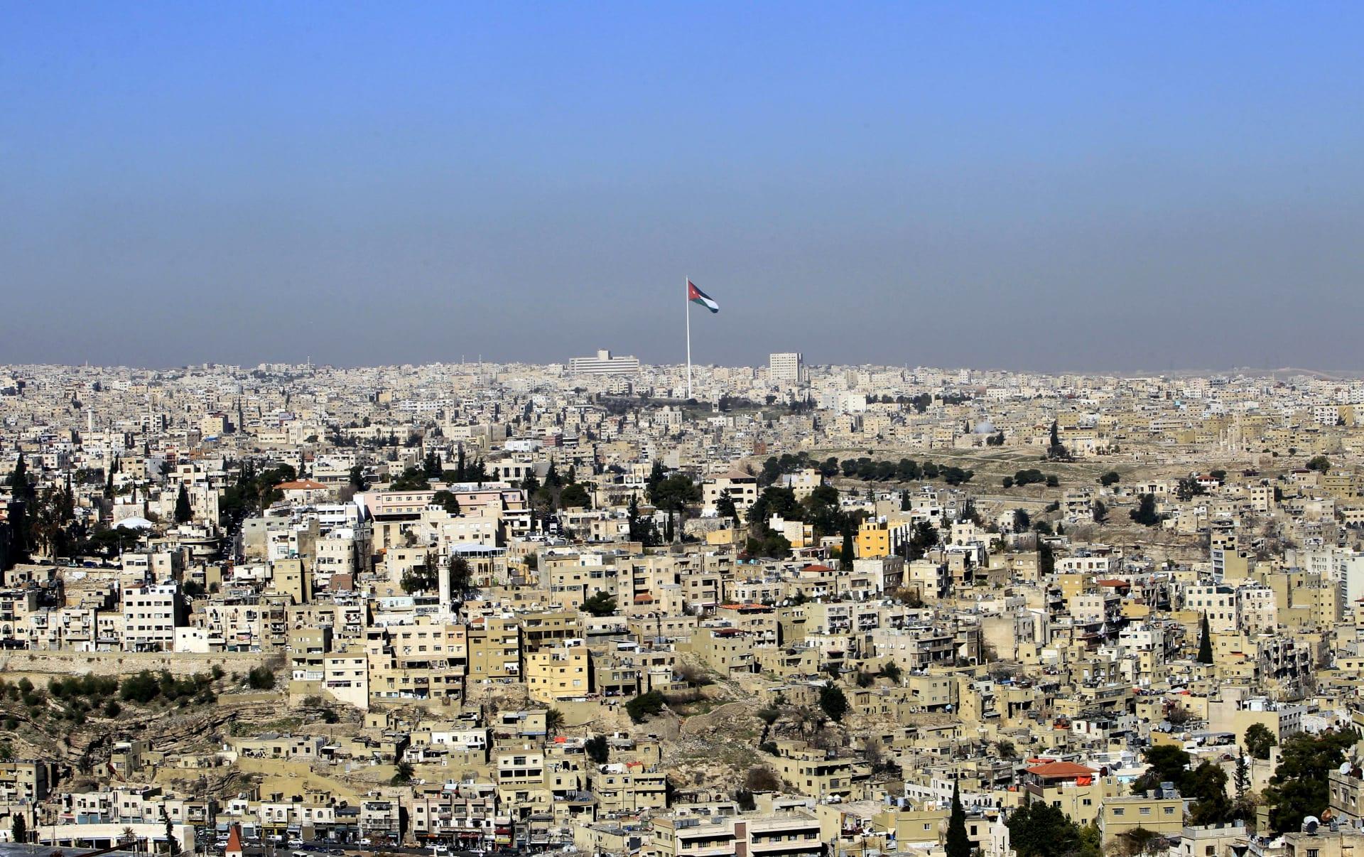 صورة أرشيفية للعالم الاردني بقلب العاصمة الأردنية، عمان