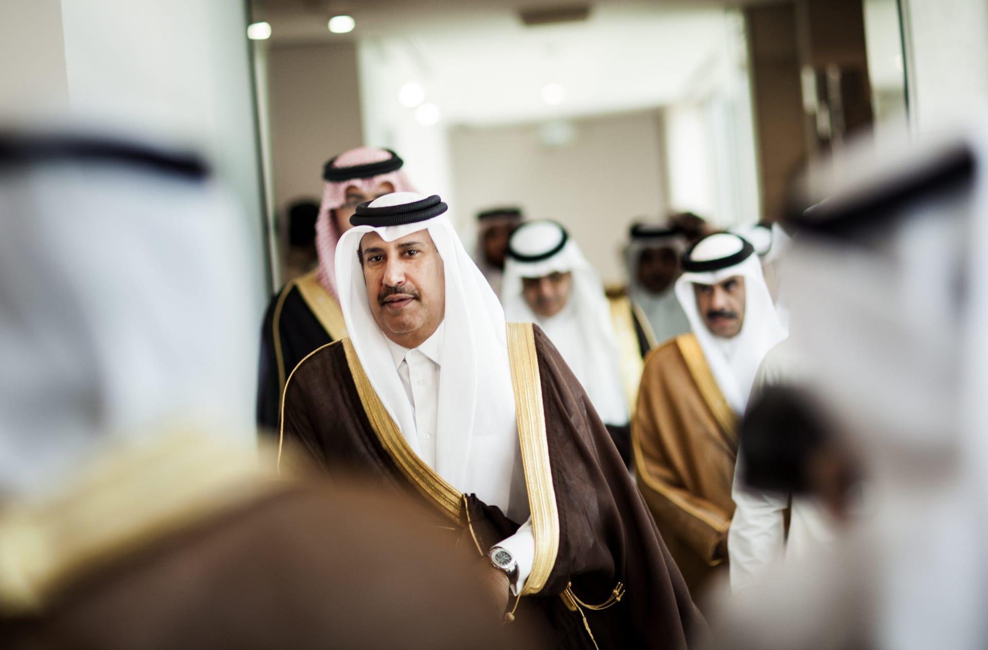 صورة ارشيفية للشيخ حمد بن جاسم