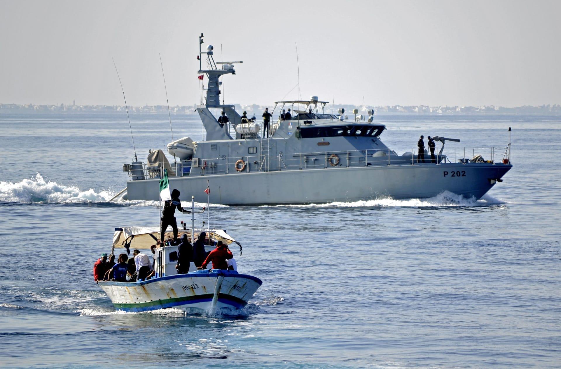 انتشال 41 جثة مهاجرة بعد انقلاب قارب قبالة سواحل تونس - صورة أرشيفية