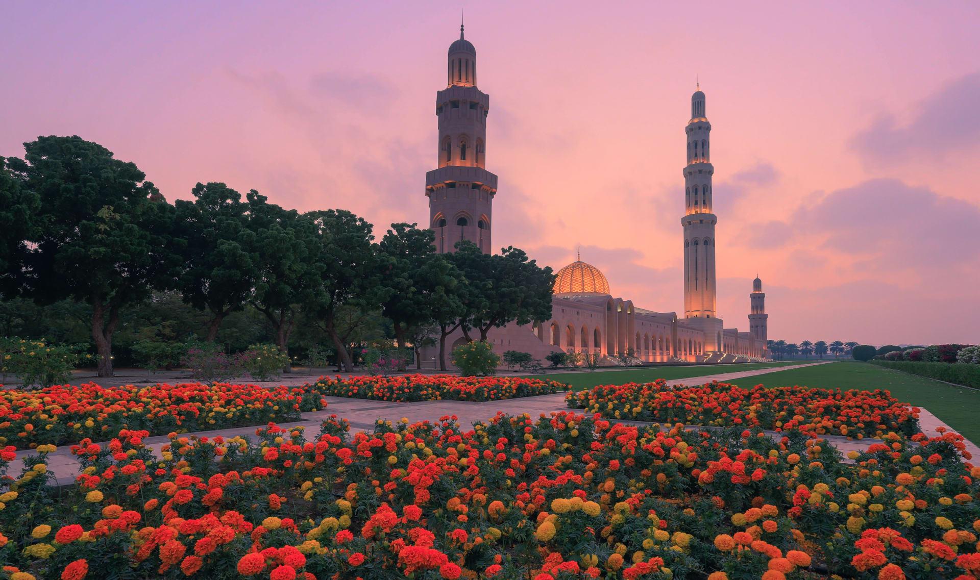 جامع السلطان قابوس الأكبر في عمان