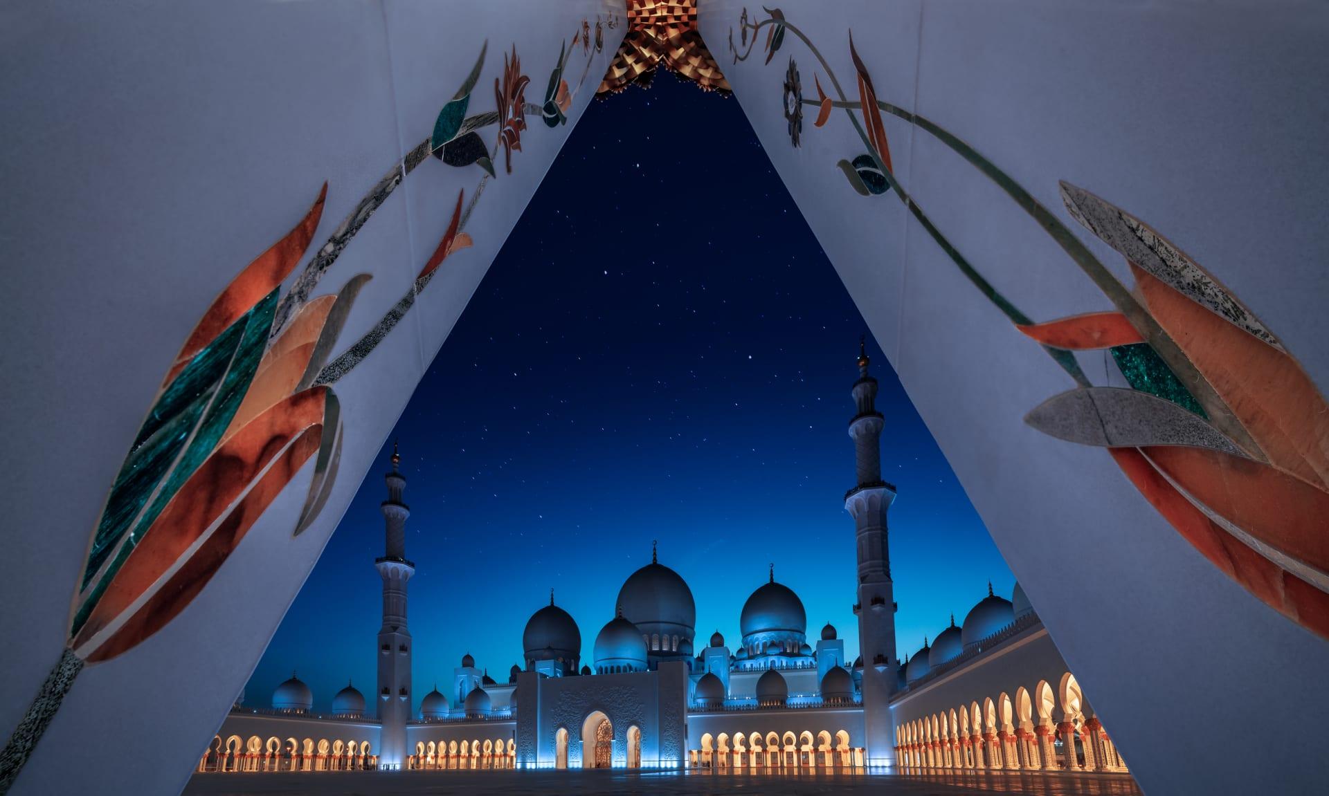 جامع الشيخ زايد الكبير في أبوظبي