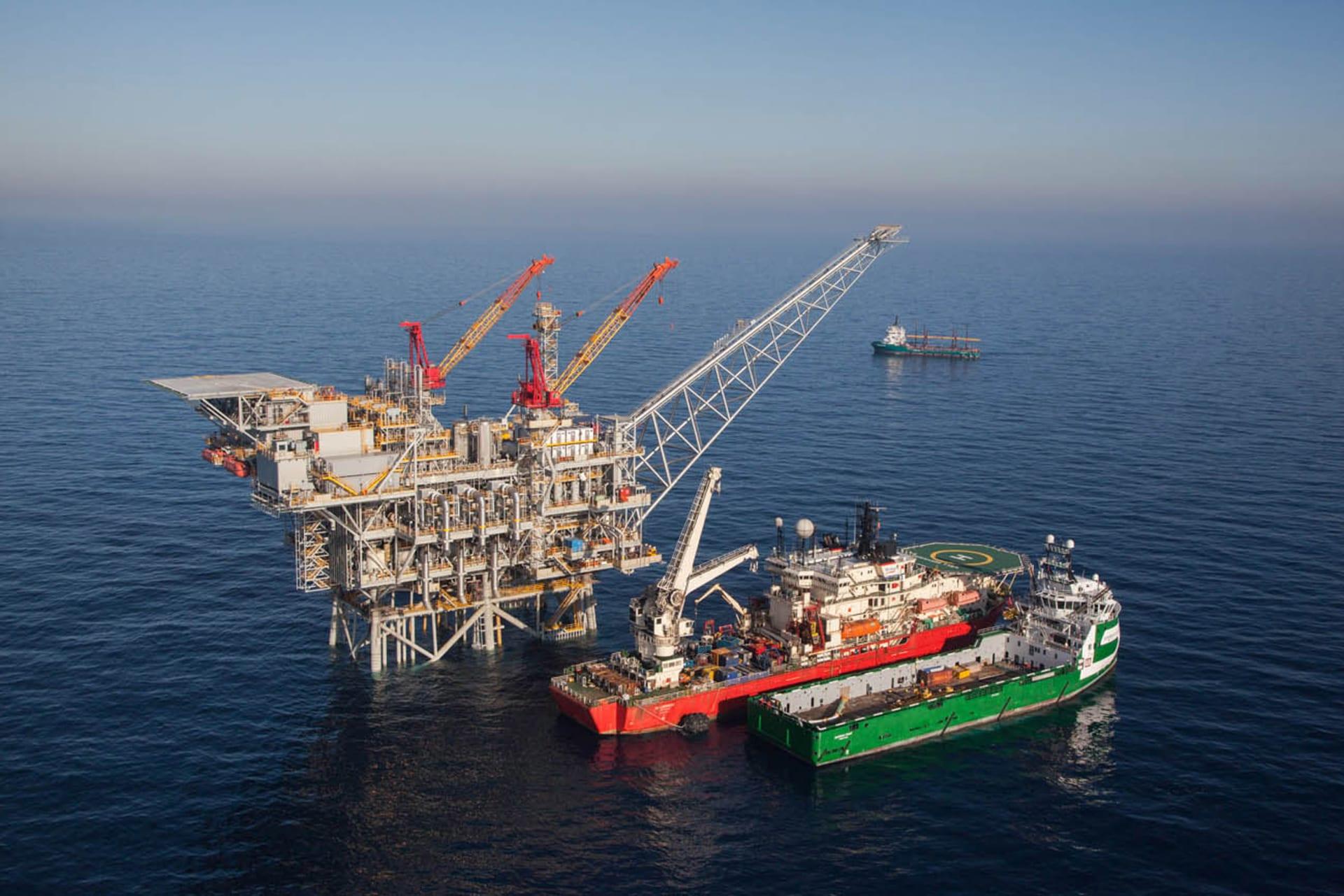 """شركة """"مبادلة"""" الإماراتية توقع مذكرة تفاهم لشراء حصة بحقل """"تمار"""" الإسرائيلي بـ1.1 مليار دولار"""