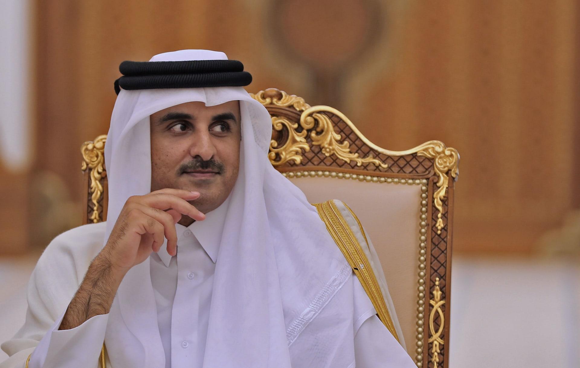 رسالة من العاهل السعودي لأمير قطر.. والدوحة تكشف ما جاء فيها