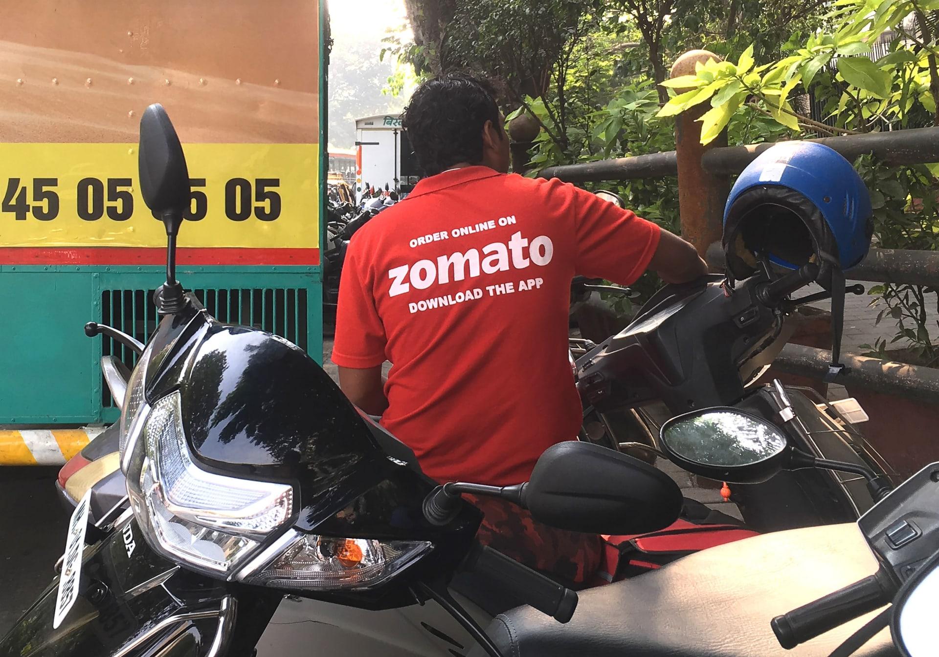 """شركة """"زوماتو"""" الهندية تتقدم بطلب للاكتتاب العام لتجميع 1.1 مليار دولار"""
