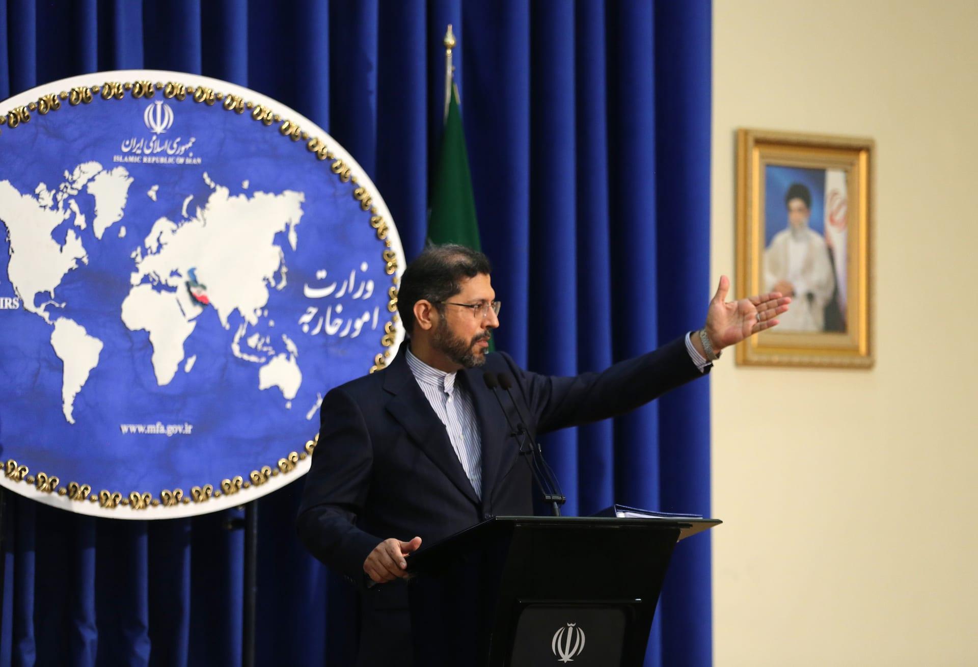 سعيد خطيب زادة، المتحدث باسم الخارجية الإيرانية