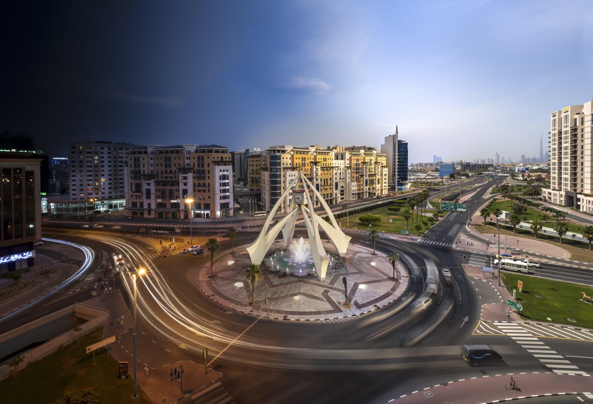 مزج الزمن في دبي