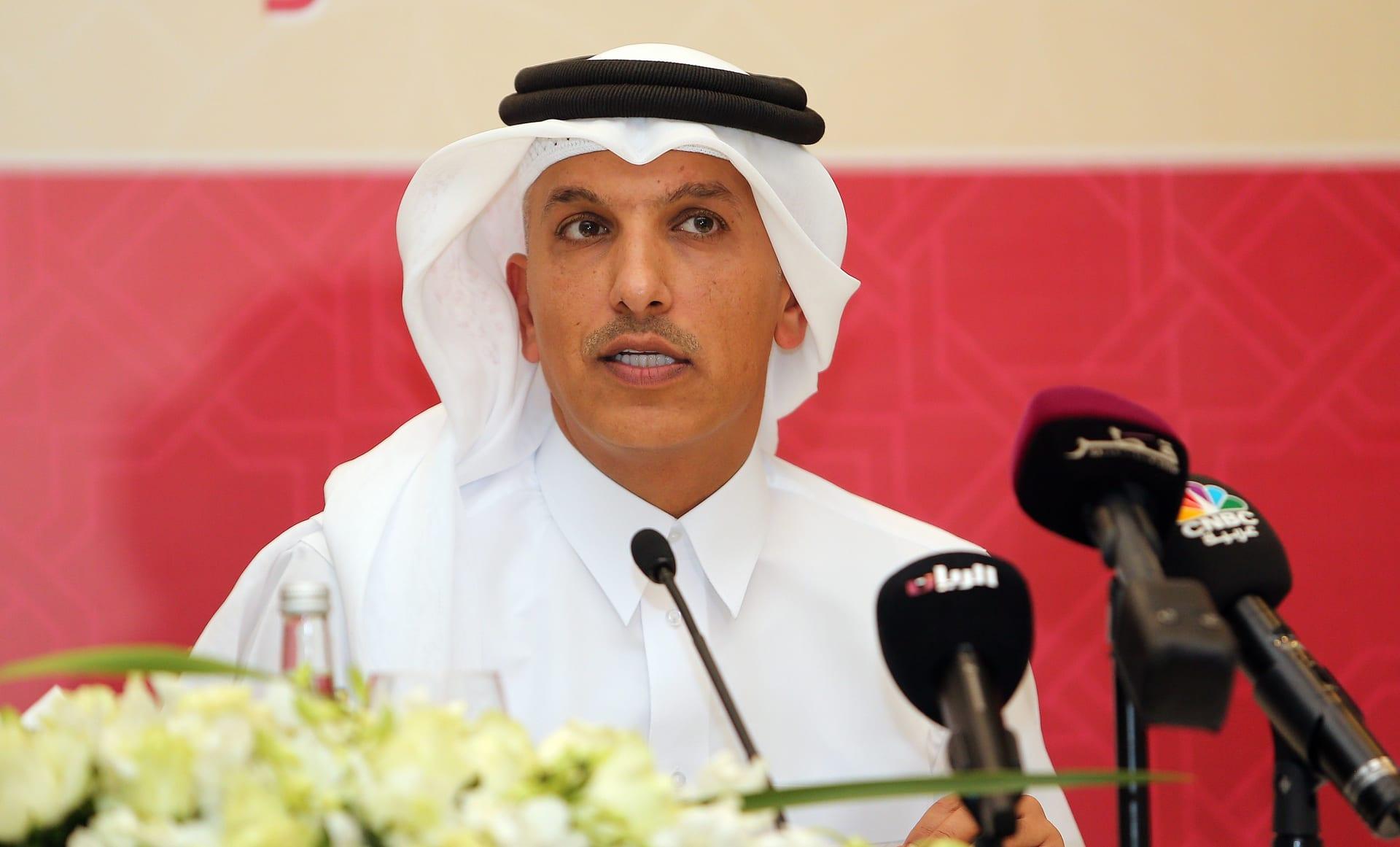 وزير المالية القطري علي شريف العمادي