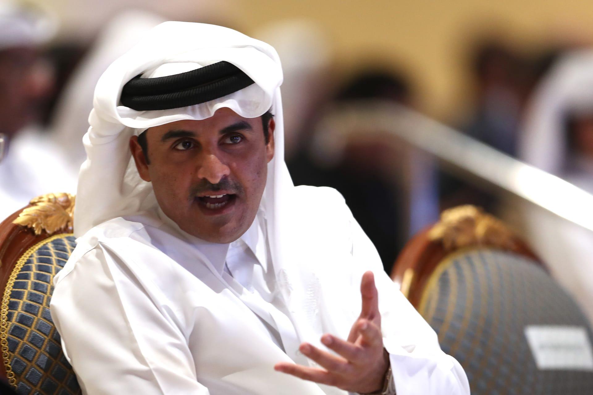 أمير قطر الشيخ تميم بن حمد - صورة أرشيفية