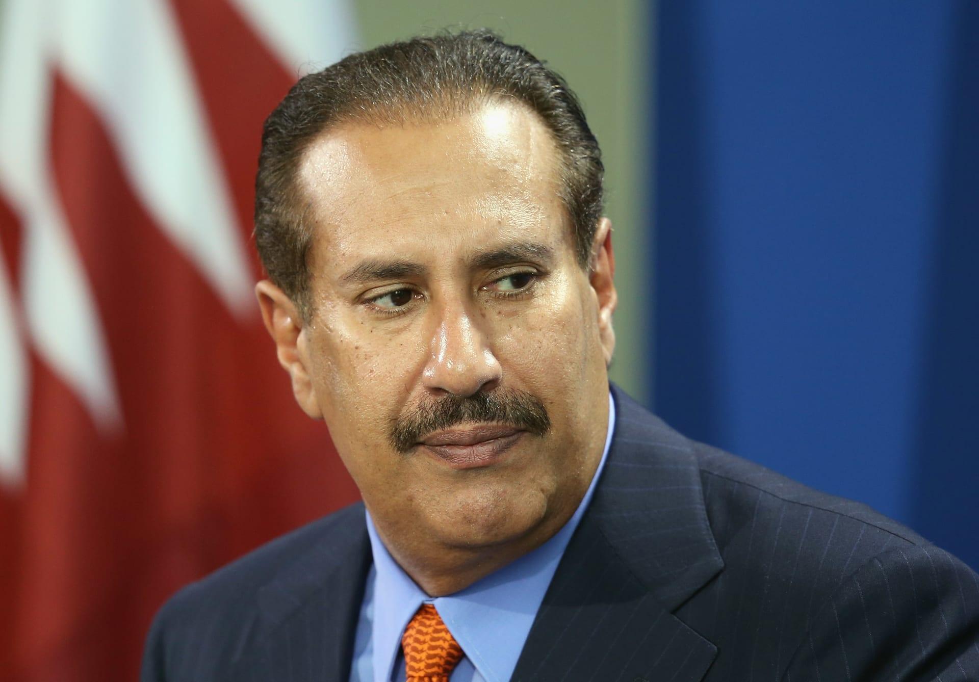 رئيس وزراء قطر الأسبق، الشيخ حمد بن جاسم