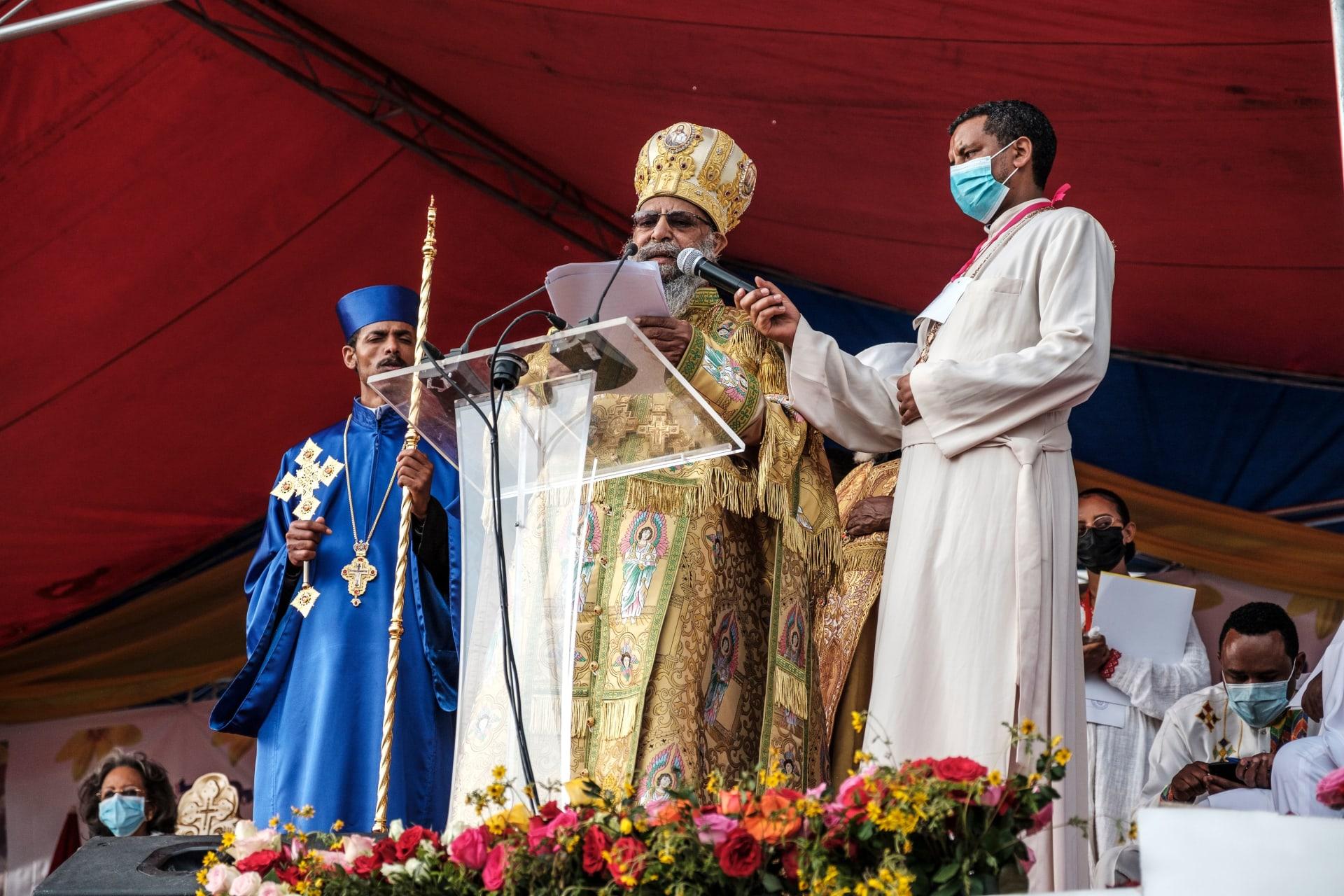 رئيس الكنيسة الأرثوذكسية الإثيوبية، أبونا ماتياس