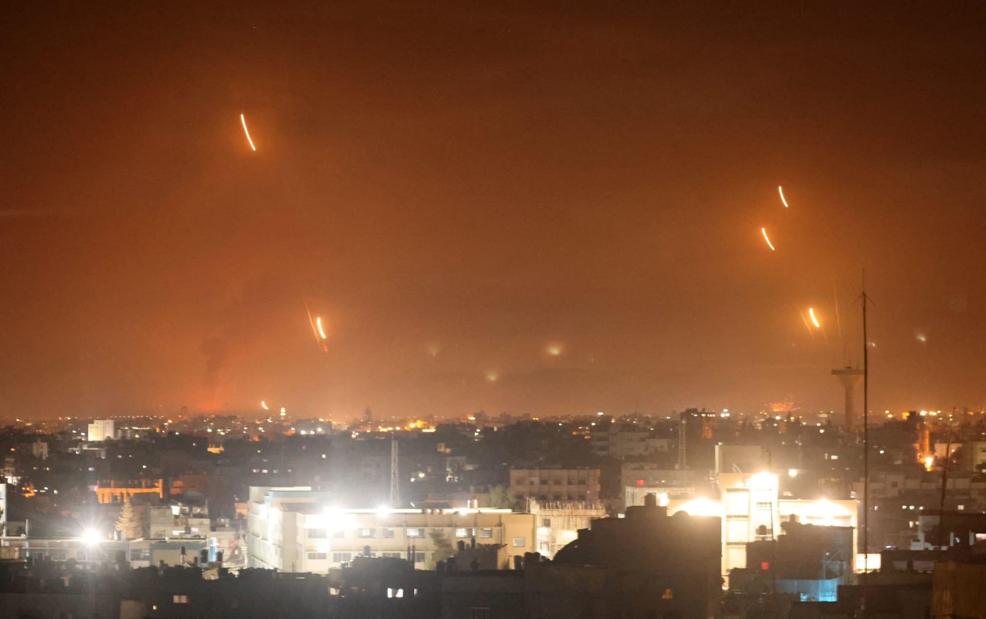 إطلاق صواريخ من قطاع غزة