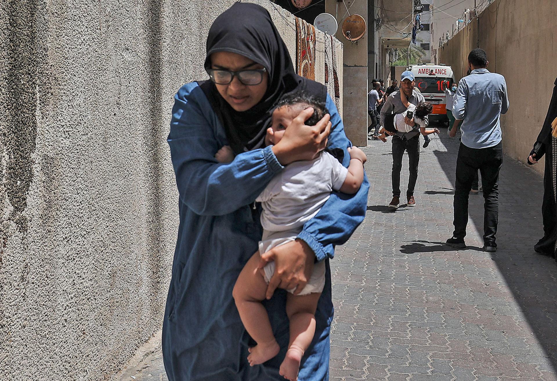 ارتفاع عدد القتلى في غزة إلى 48 بينهم 14 طفلاً.. وإصابة أكثر من 300