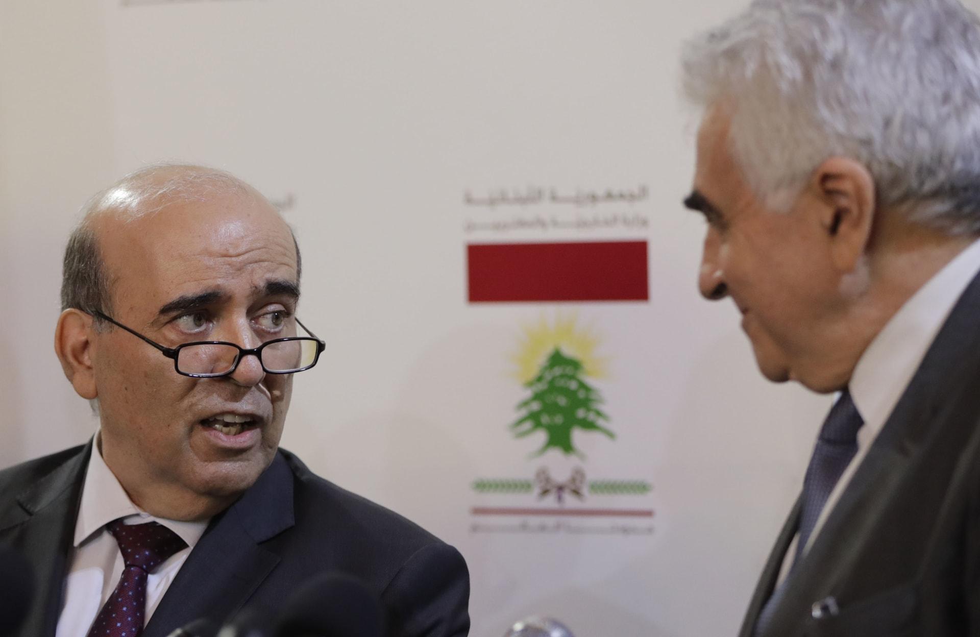 سلمان الانصاري يتحدث عن جانبين من الجزء المحذوف من مقابلة وزير الخارجية اللبناني شربل وهبي