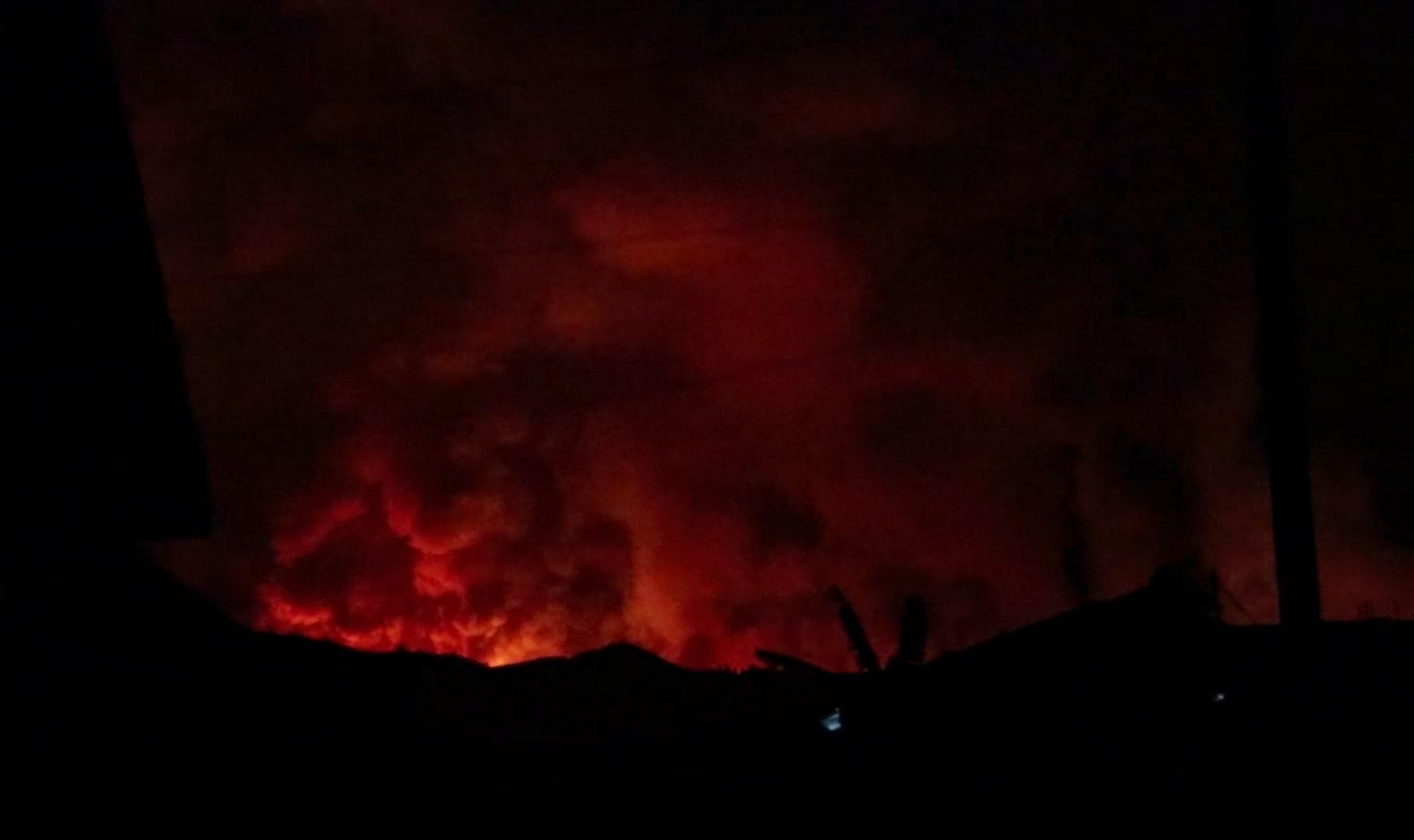 ثوران بركان غوما يثير المخاوف في الكونغو